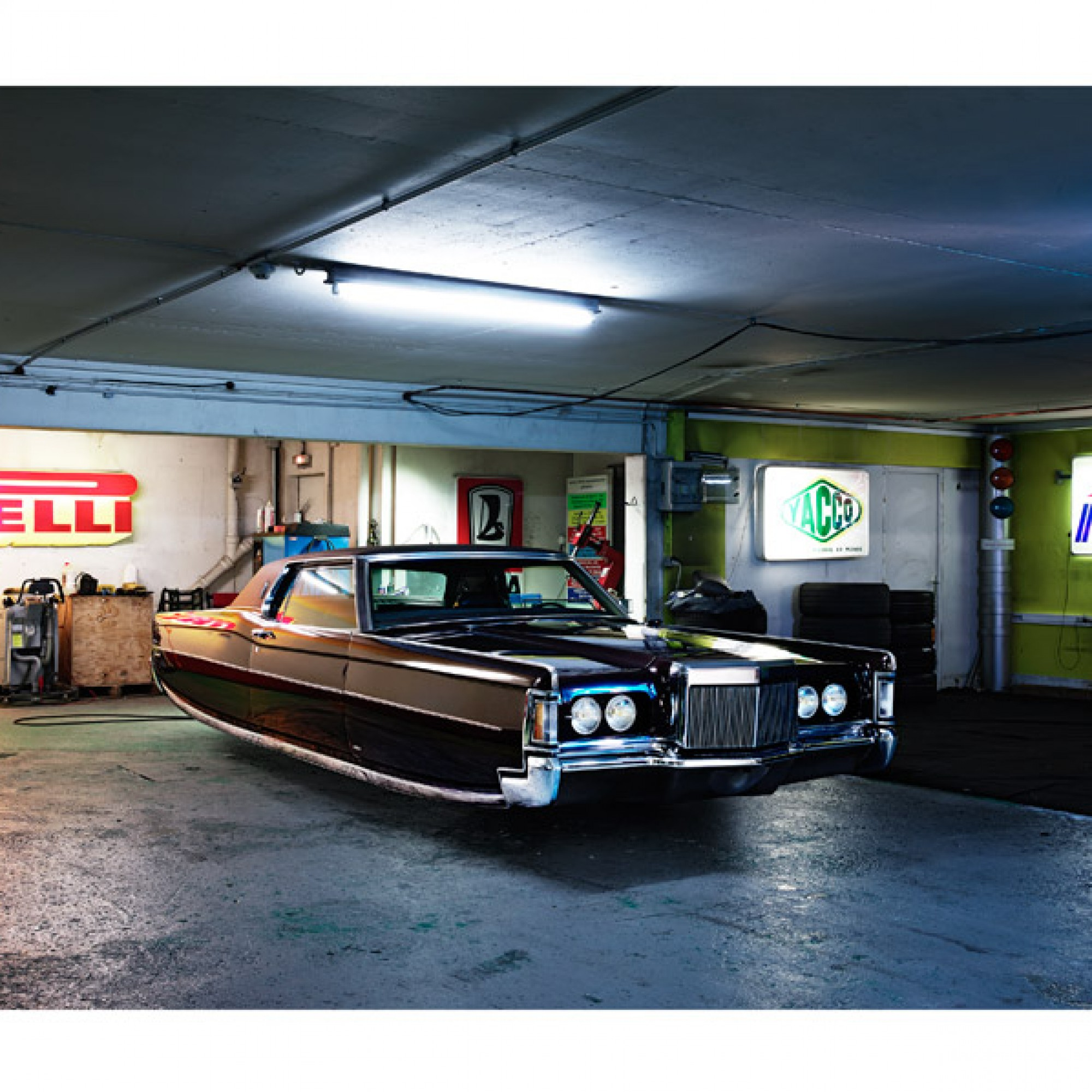 Lincoln Continental. (Renaud Marion / M.A.D. Gallery / zvg)