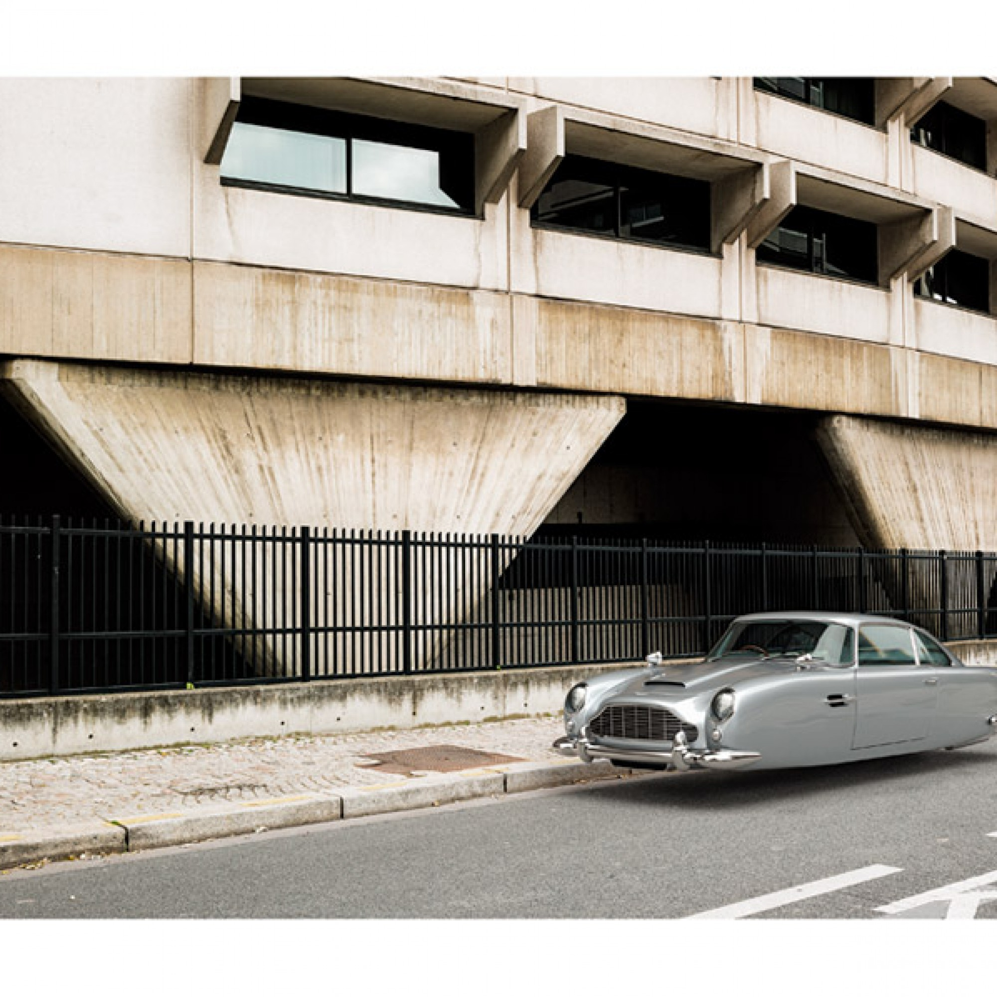 Aston Martin DB5. (Renaud Marion / M.A.D. Gallery / zvg)