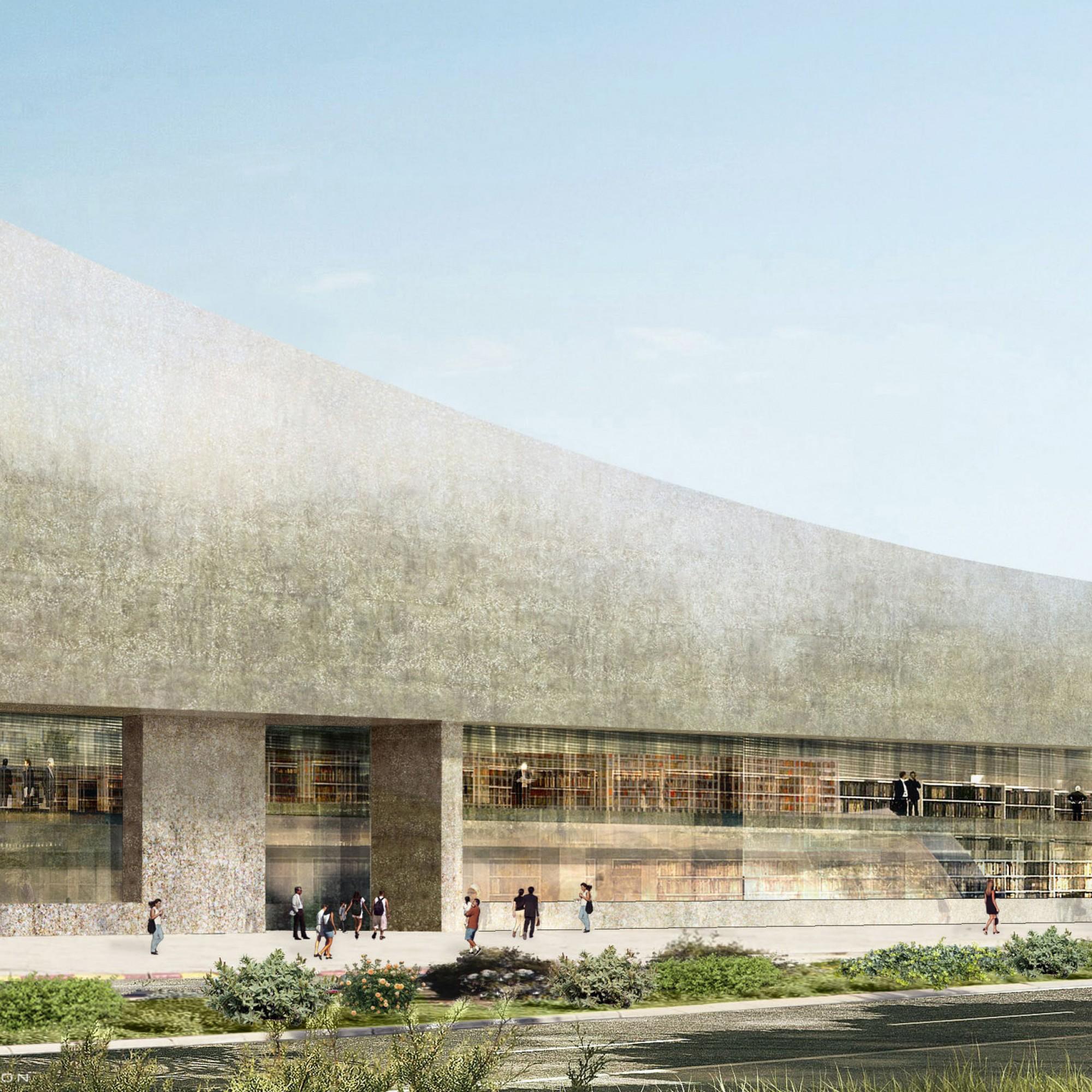 ist das Wahrzeichen der neuen Bibliothek aus der Feder von Herzog & de Meuron. (zvg)