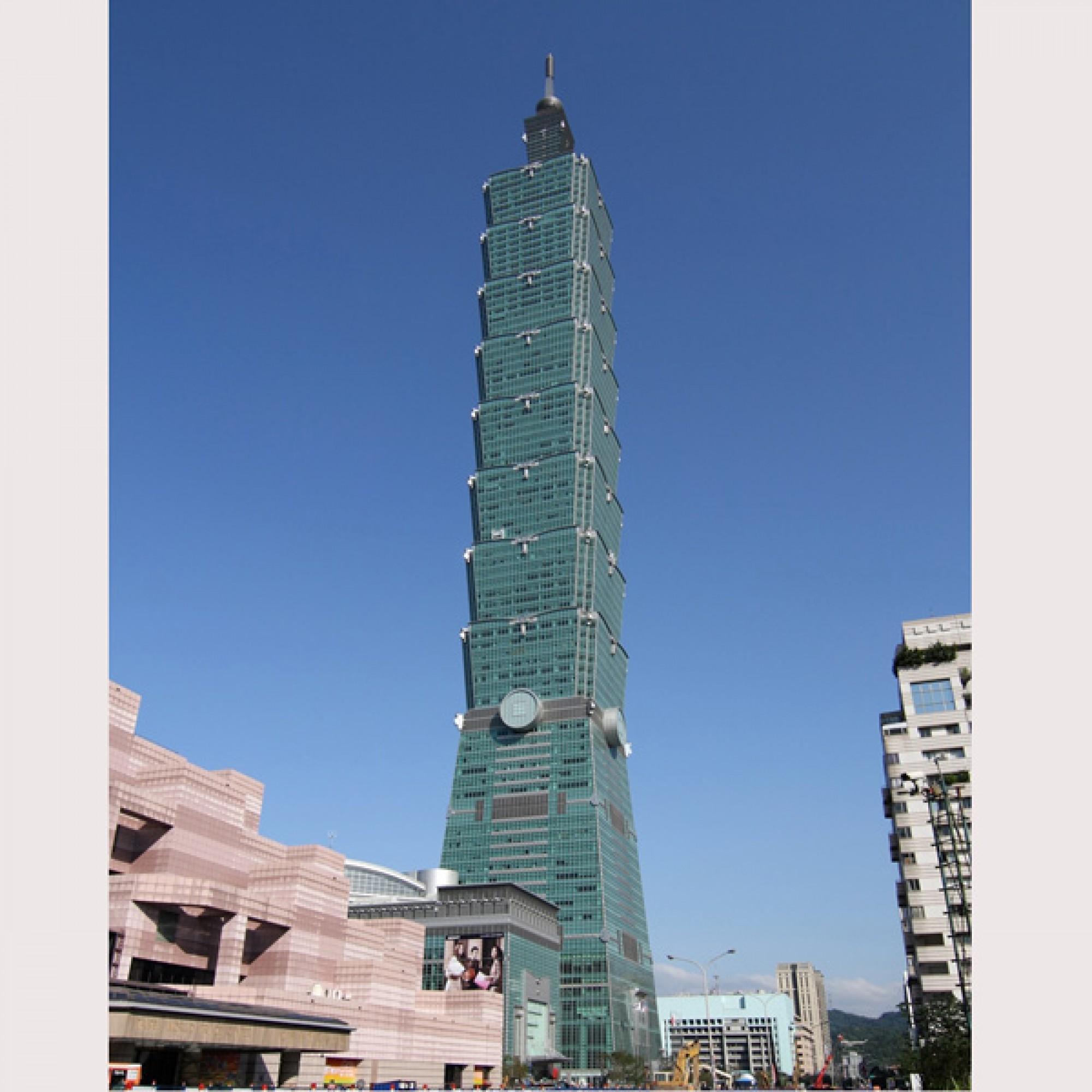 Taipei 101, Taipei, Taiwan (Michiel van Dijk)