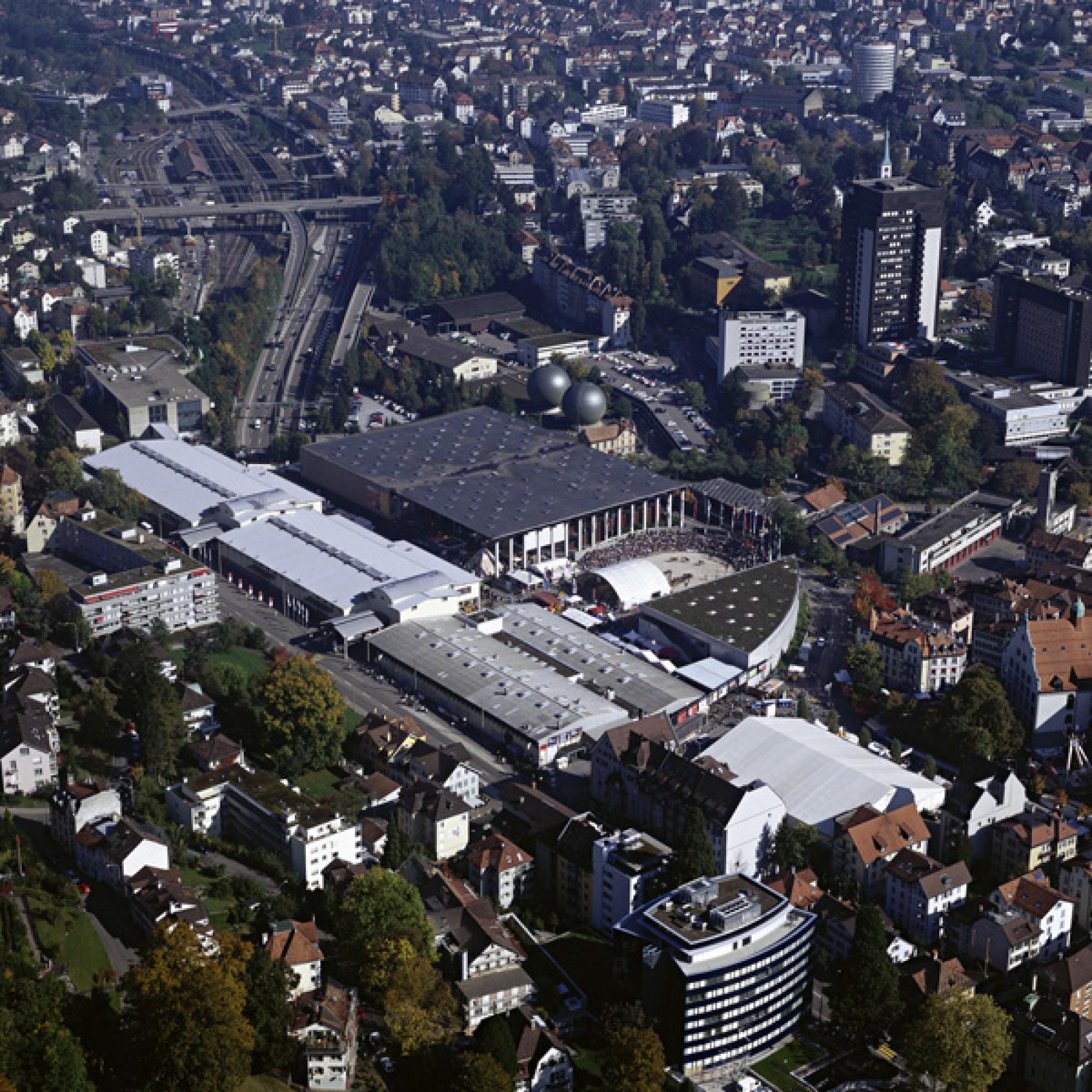 Olma-Messegelände (R. Kühne/Olma Messen St. Gallen)