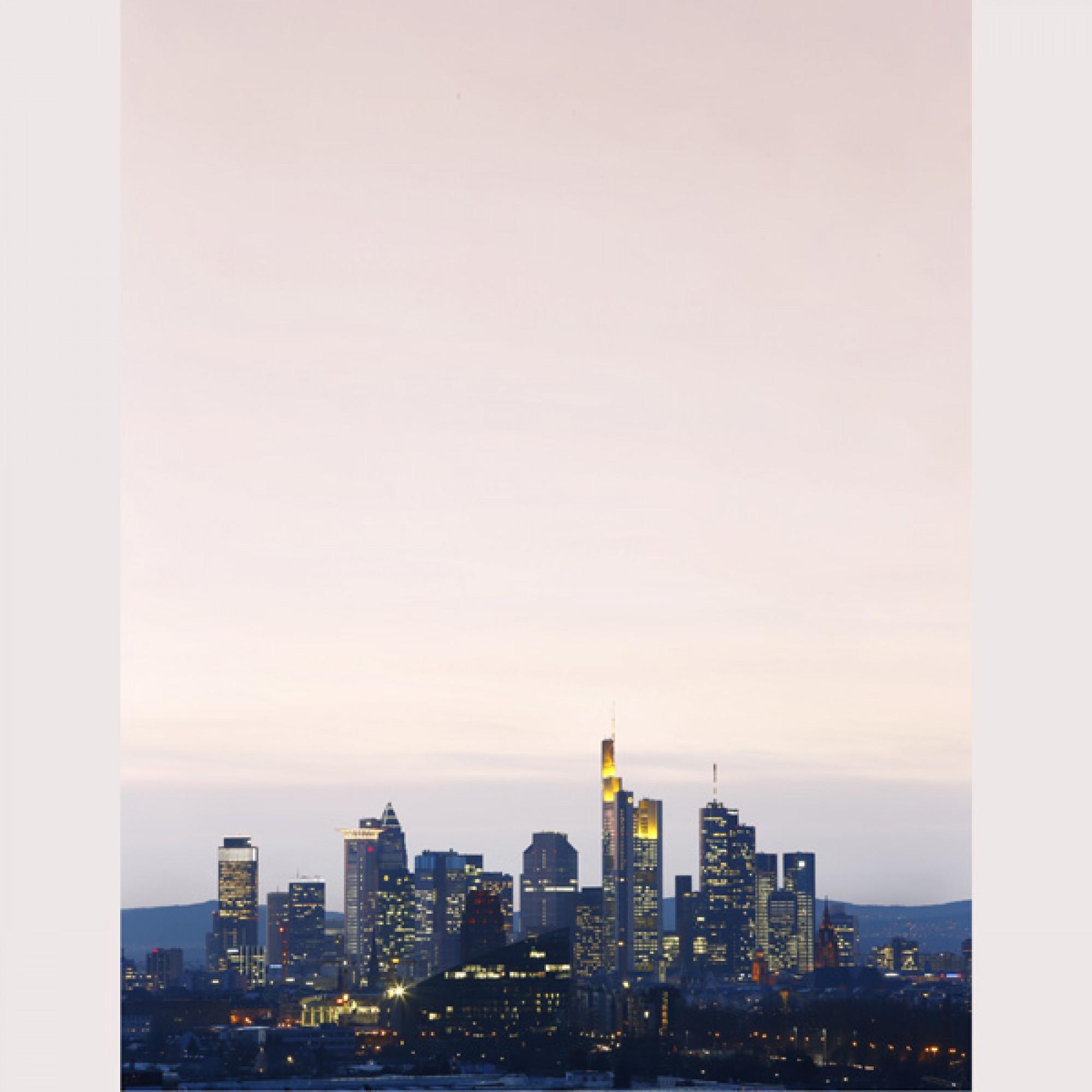 Blick auf die Hochhausstadt Frankfurt am Main (Uwe Dettmar, 2014)