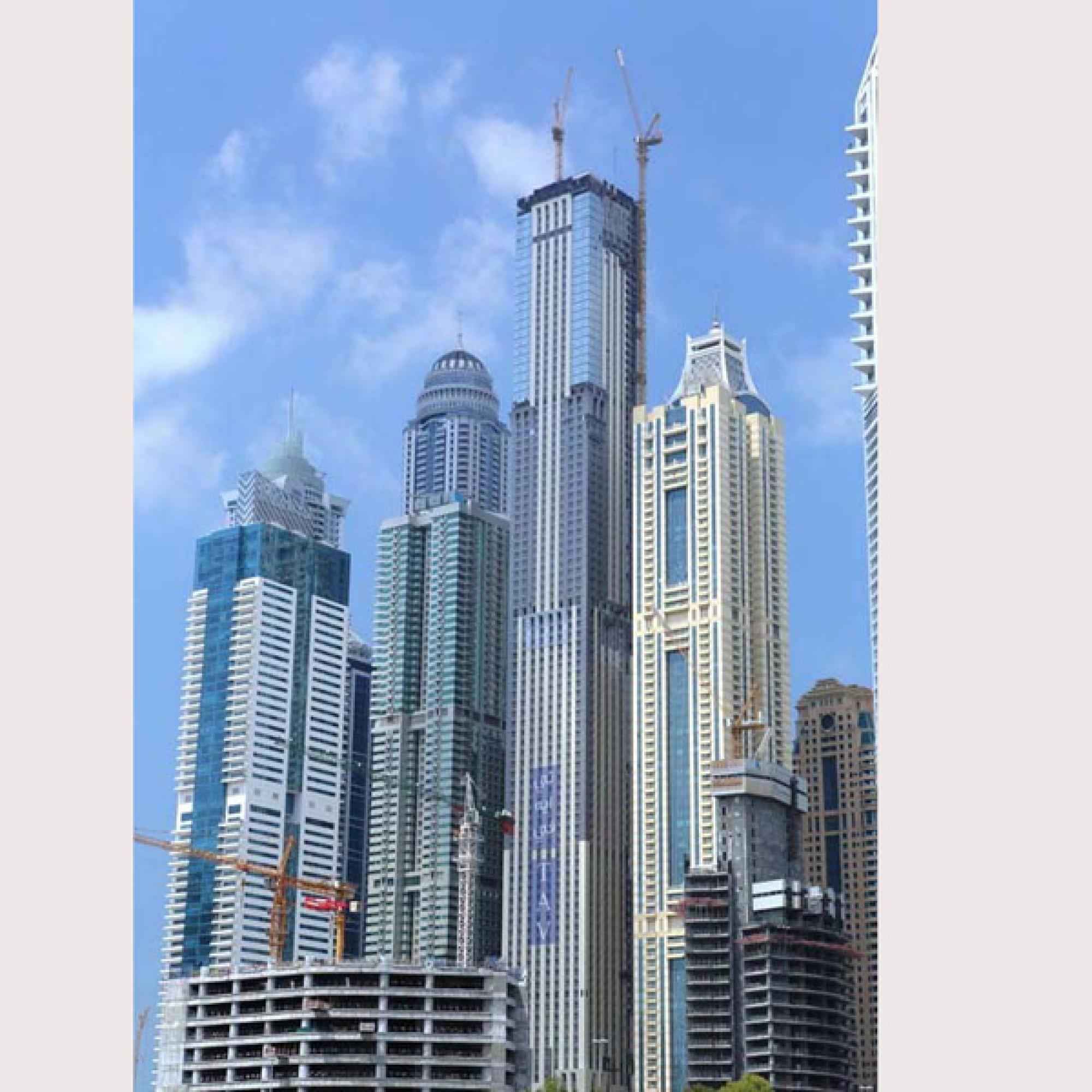 Marina 101, Dubai, Vereinigte Arabische Emirate (TAV Construction)