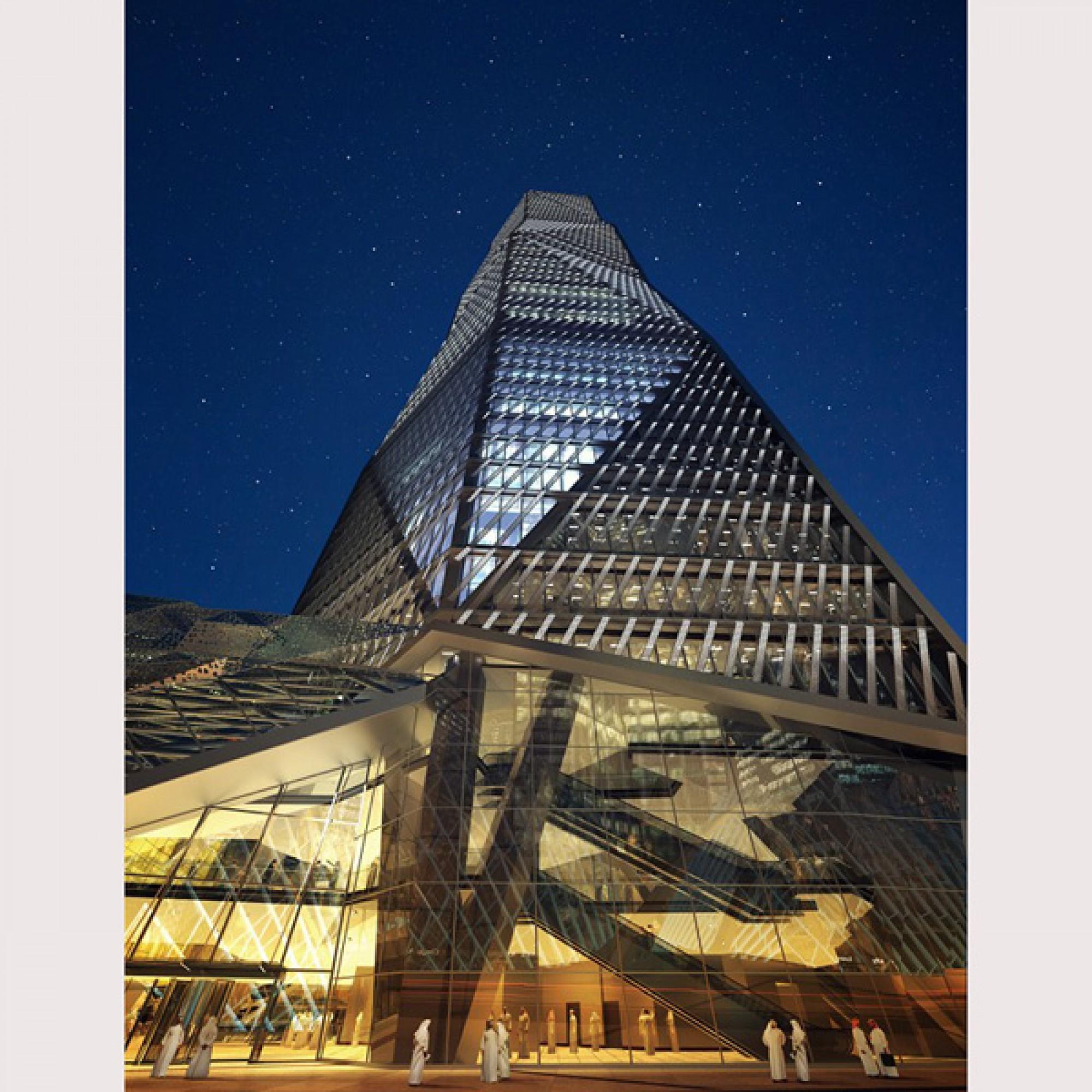 Capital Market Authority Tower, Riad, Saudi Arabien (DOQ via CTBUH)