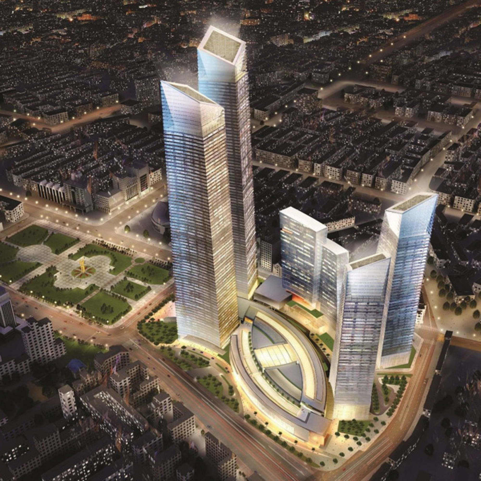 Forum 66 Tower 2, Shenyang, China (zvg)