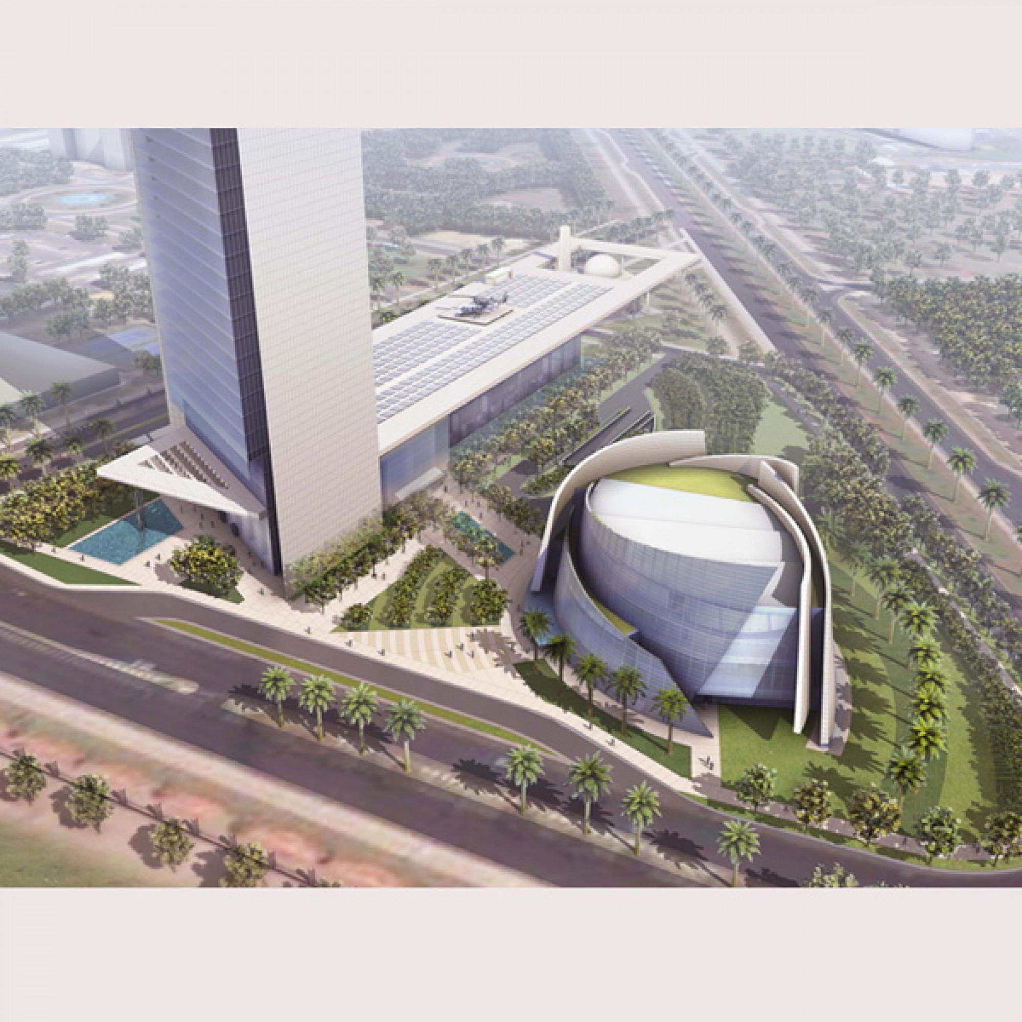 National Oil Company Headquarters, Abu Dhabi, Vereinigte Arabische Emirate (www.hok.com)