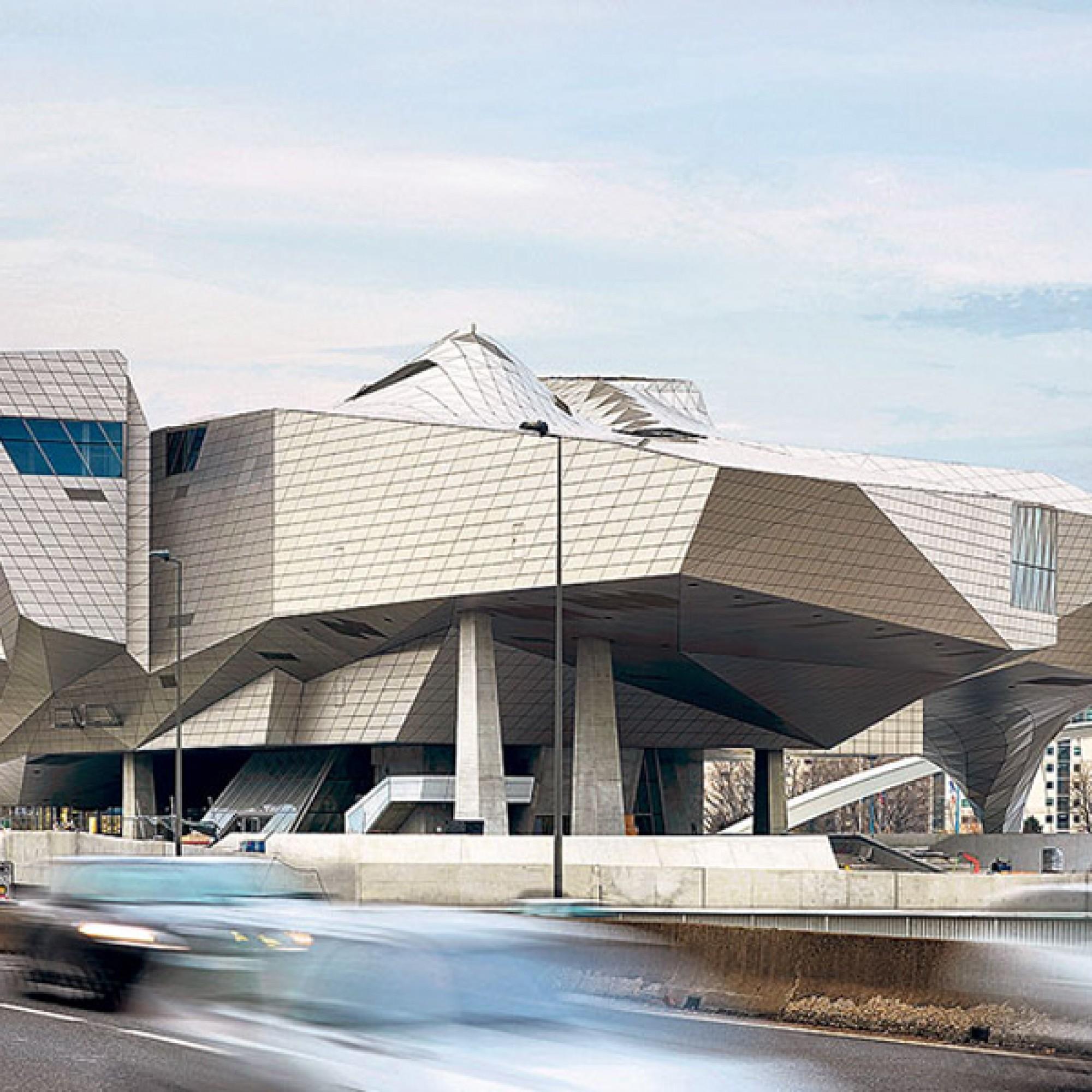 Das musée de confluences, Visualisierung (Coop Himmelb(l)au)