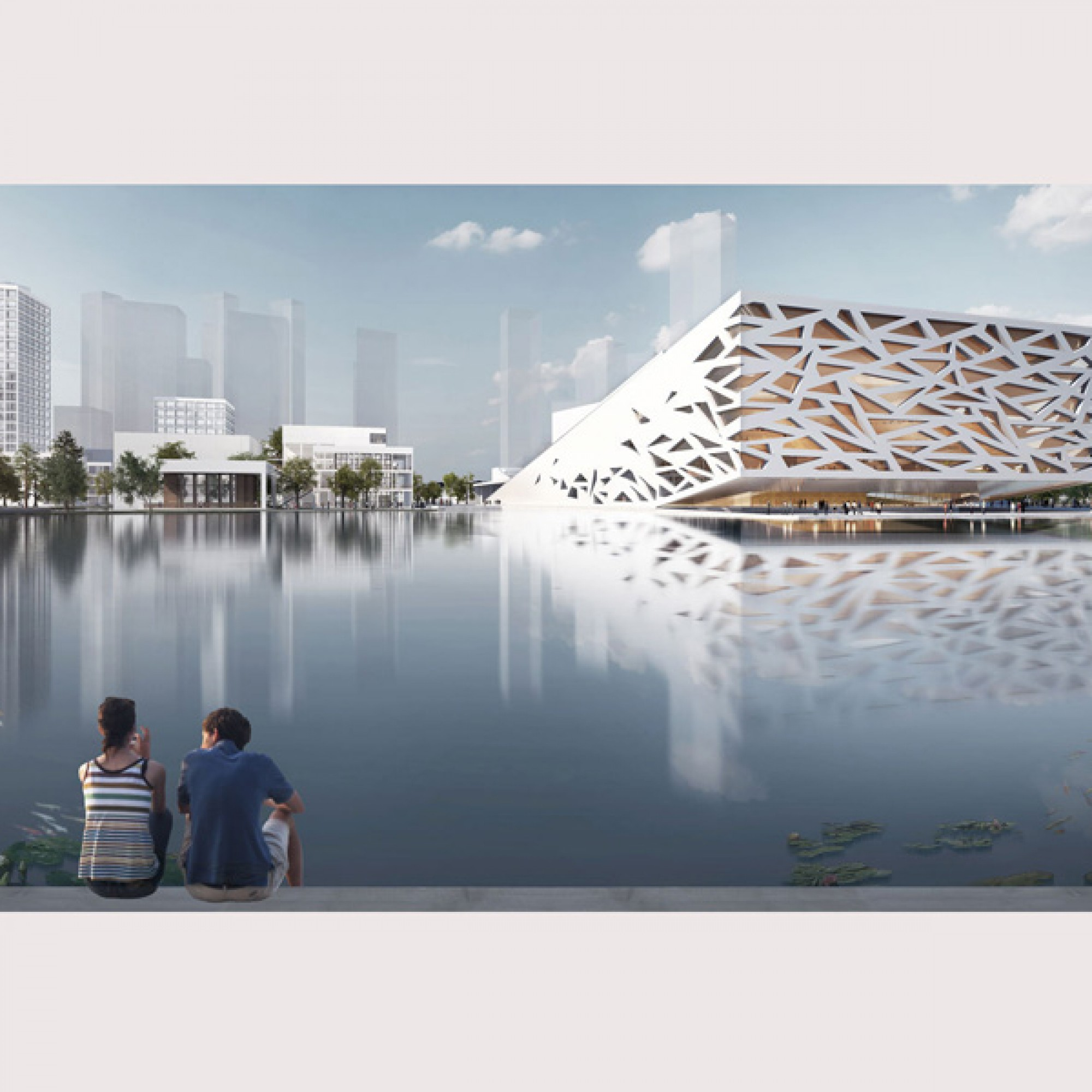Opernhaus in China (Henning Larsen Architects)