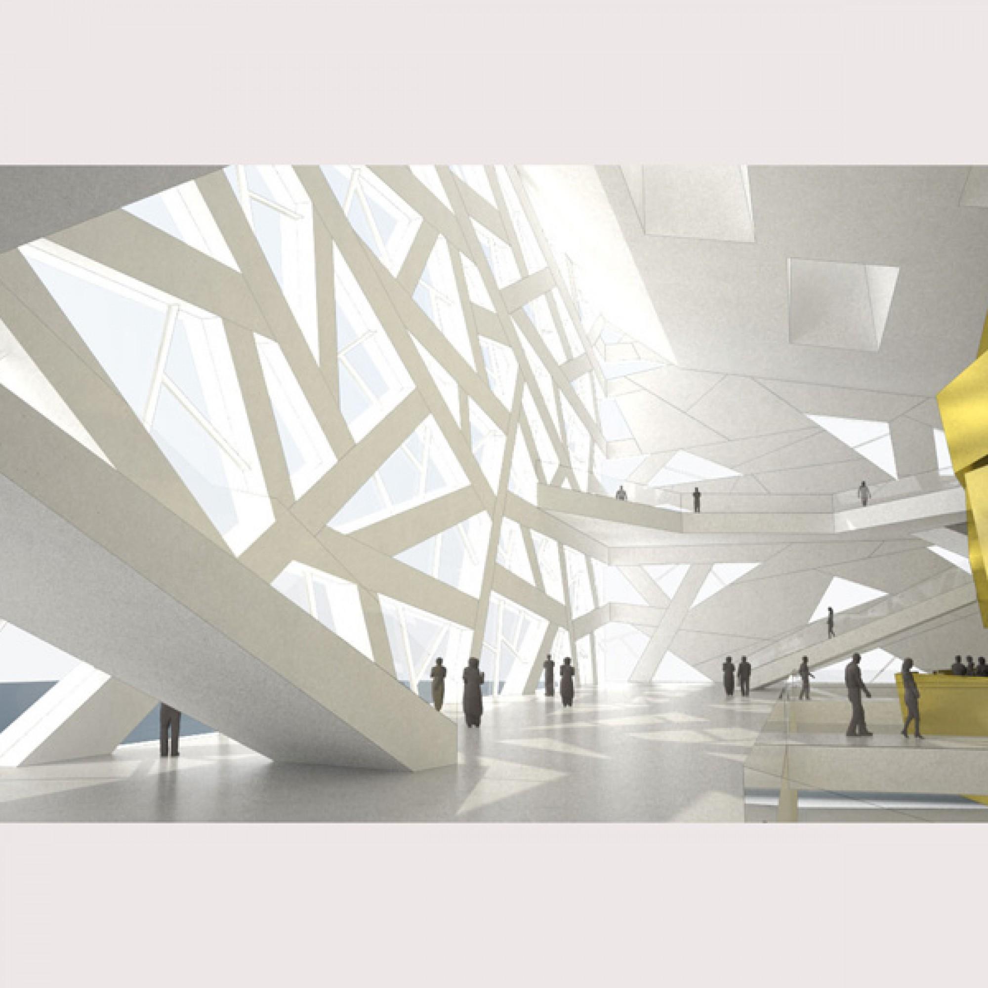 Opernhaus in China, Innenansicht (Henning Larsen Architects)