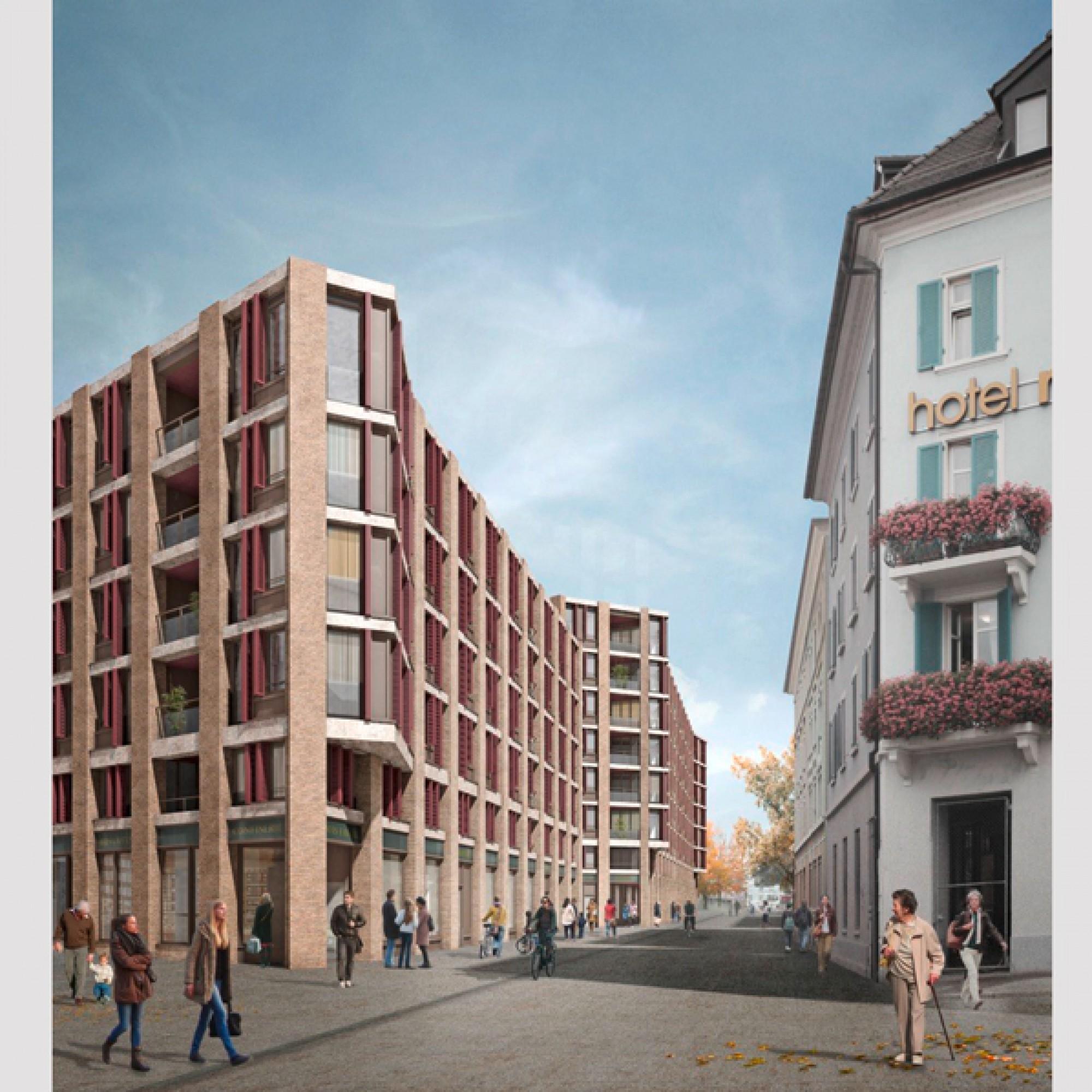 ...aus der Feder der Esch Sintzel Architekten konnten die Jury überzeugen. (PD)