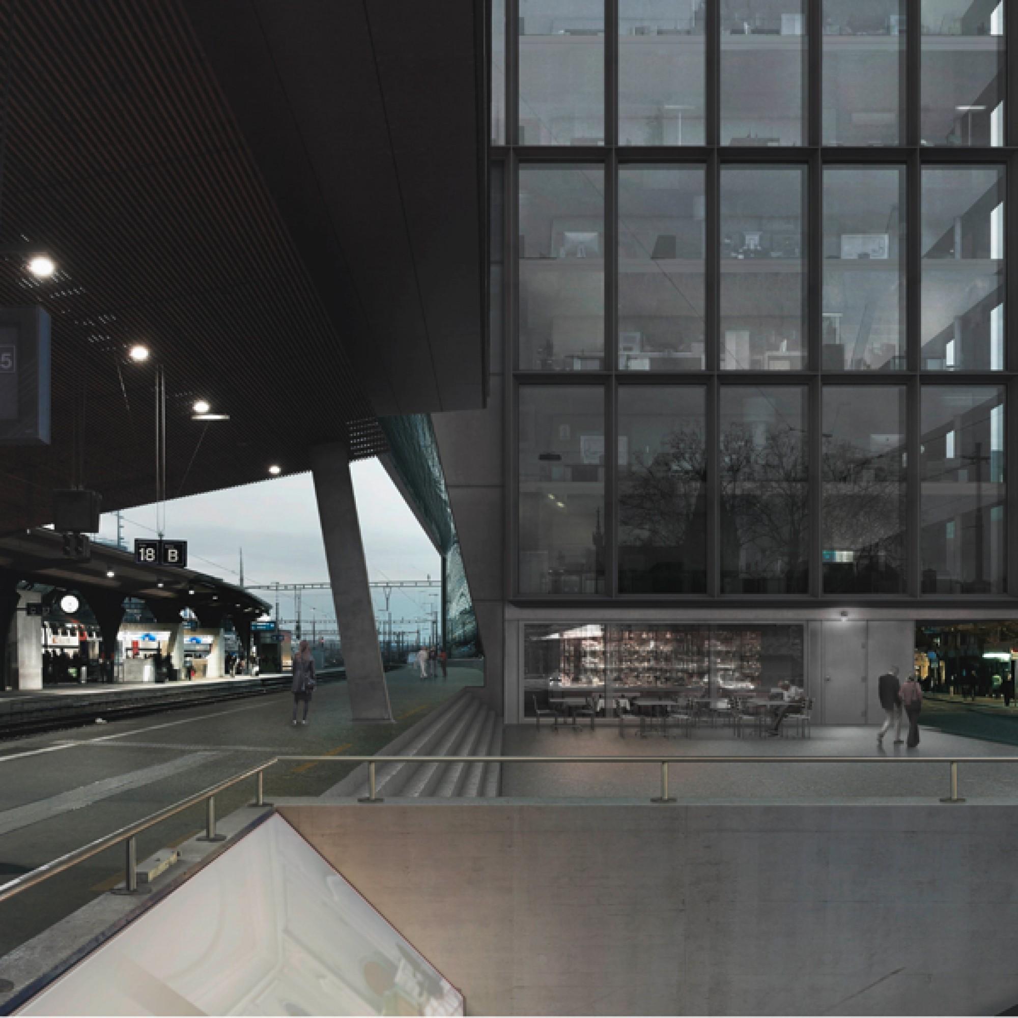 Das Siegerprojekt für die Bürogebäude stammt vom Büro Made in Sàrl. (PD)