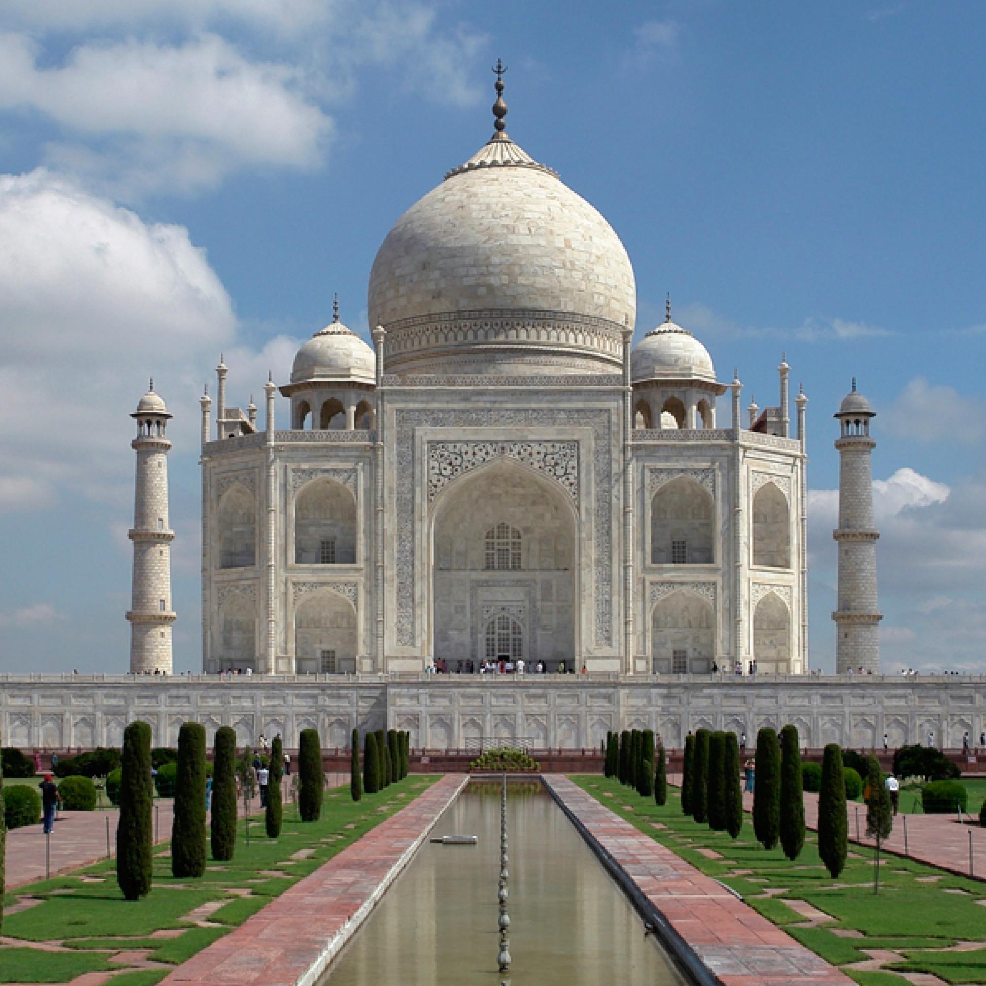 Der Taj Mahal... (*_*, flickr, CC)
