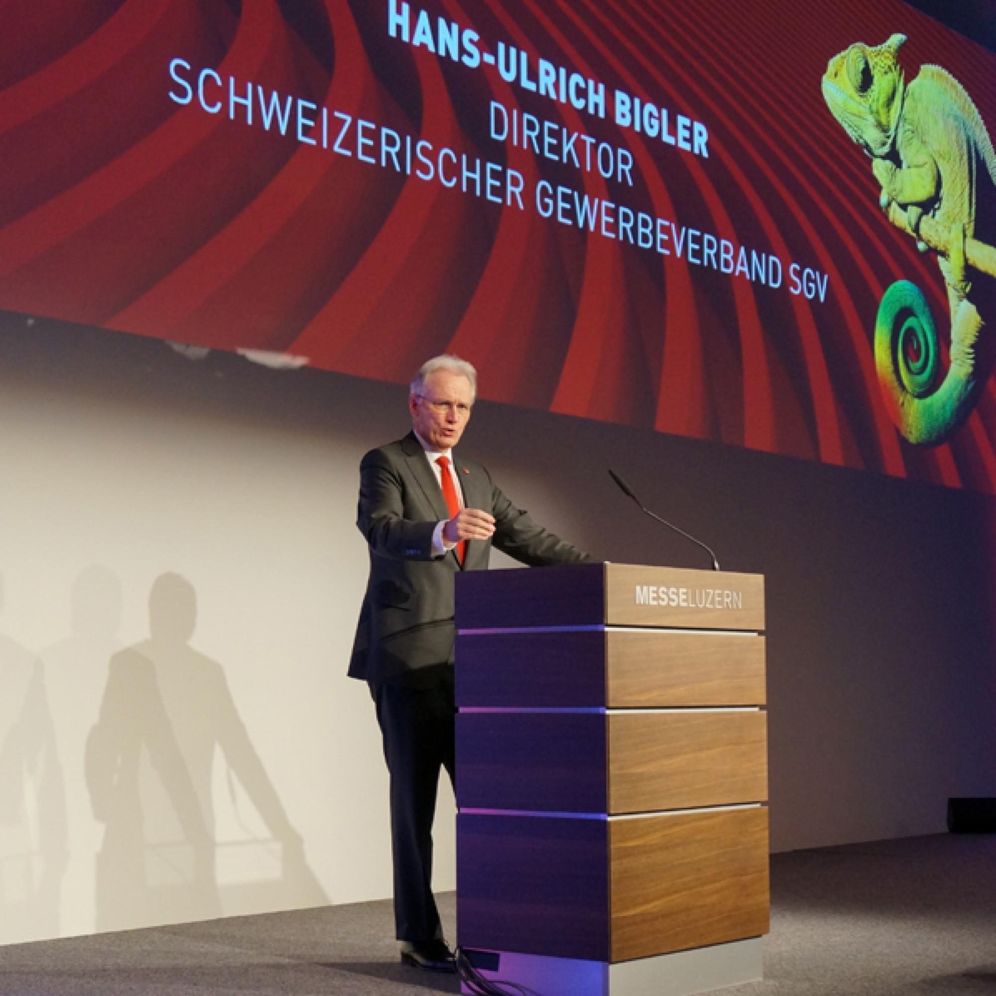 5799 Hans-Ulrich Bigler, Direktor des Schweizerischen Gewerbeverbands (SGV) .(Gabriel Diezi)
