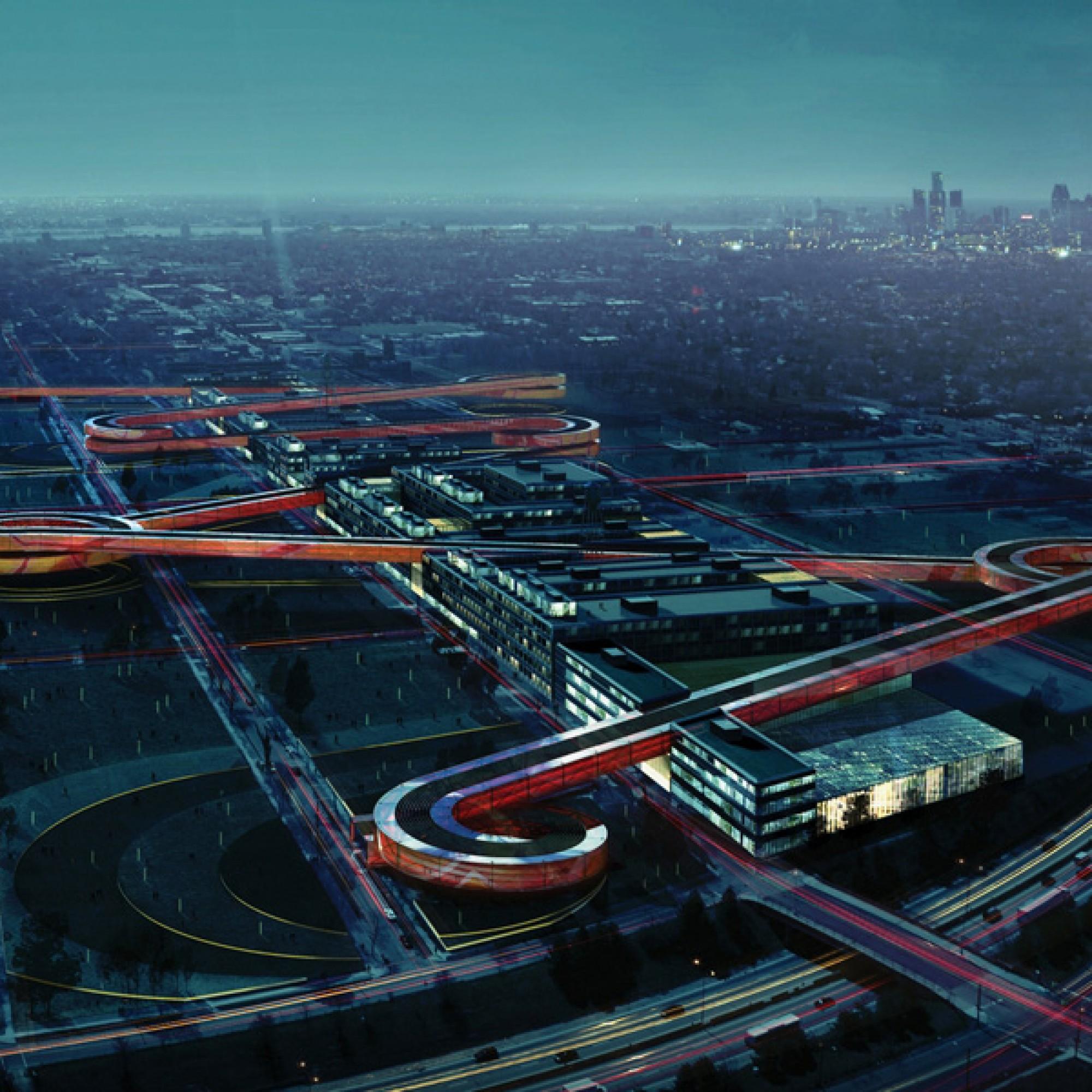 Javier Galindo: Entwurf für die Wiederbelebung des Packard Belt in Detroit. (zvg)