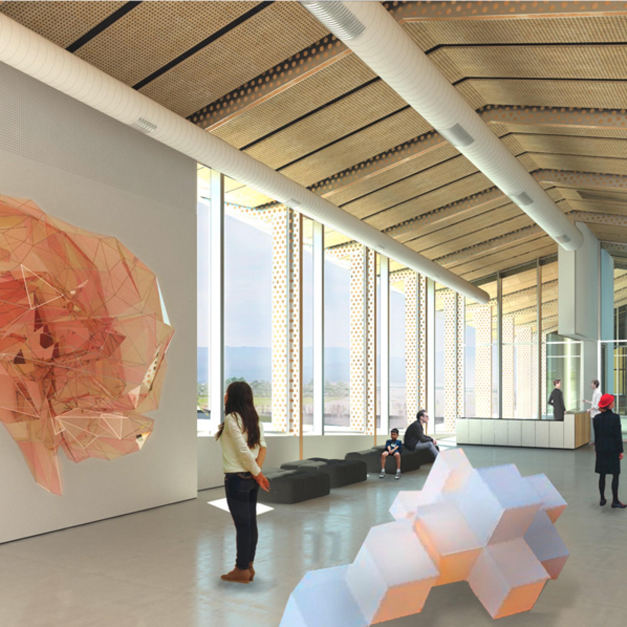 Im neuen Gebäude sind... (EPFL)