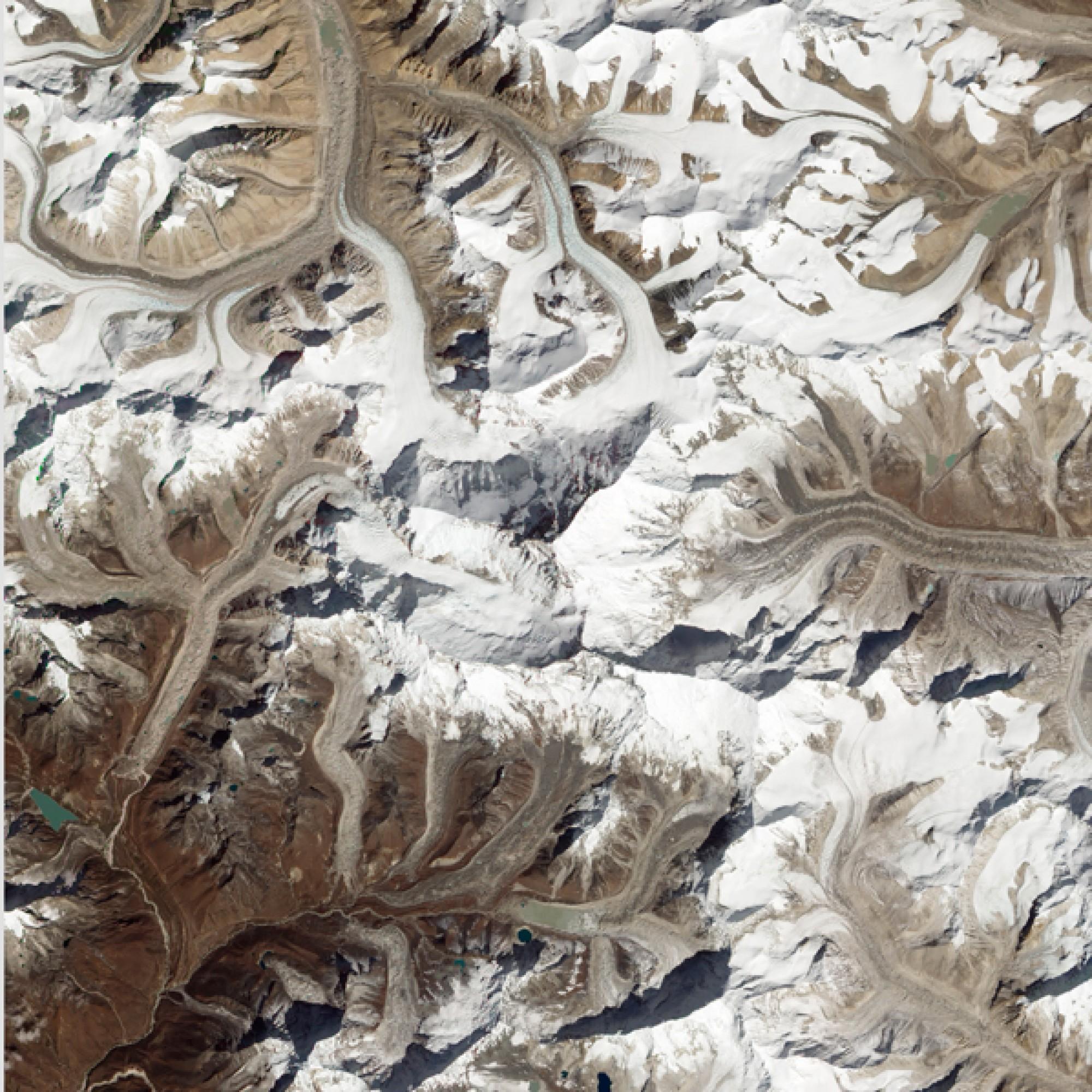 Mount Everest. (Nasa)