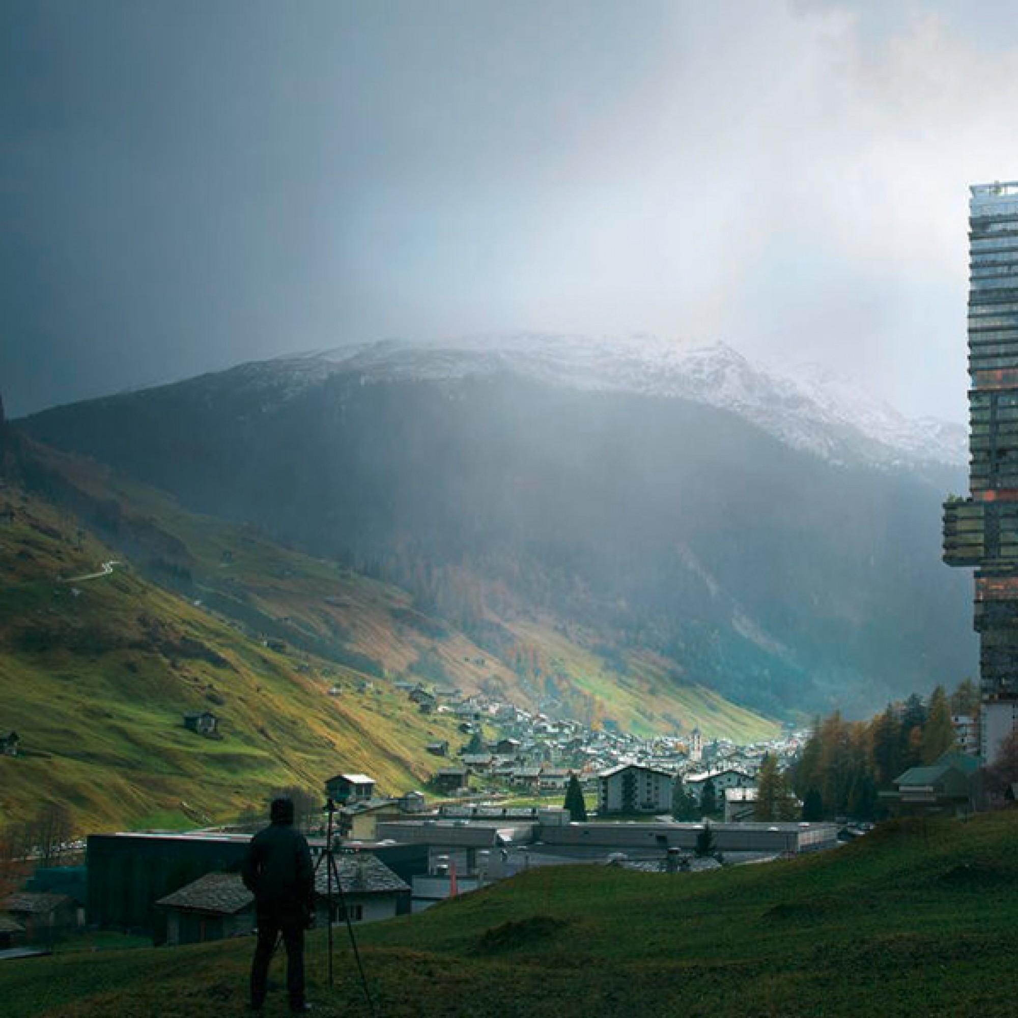 Der geplante Hotelturm (Visualisierungen MIR. Creative Studio)
