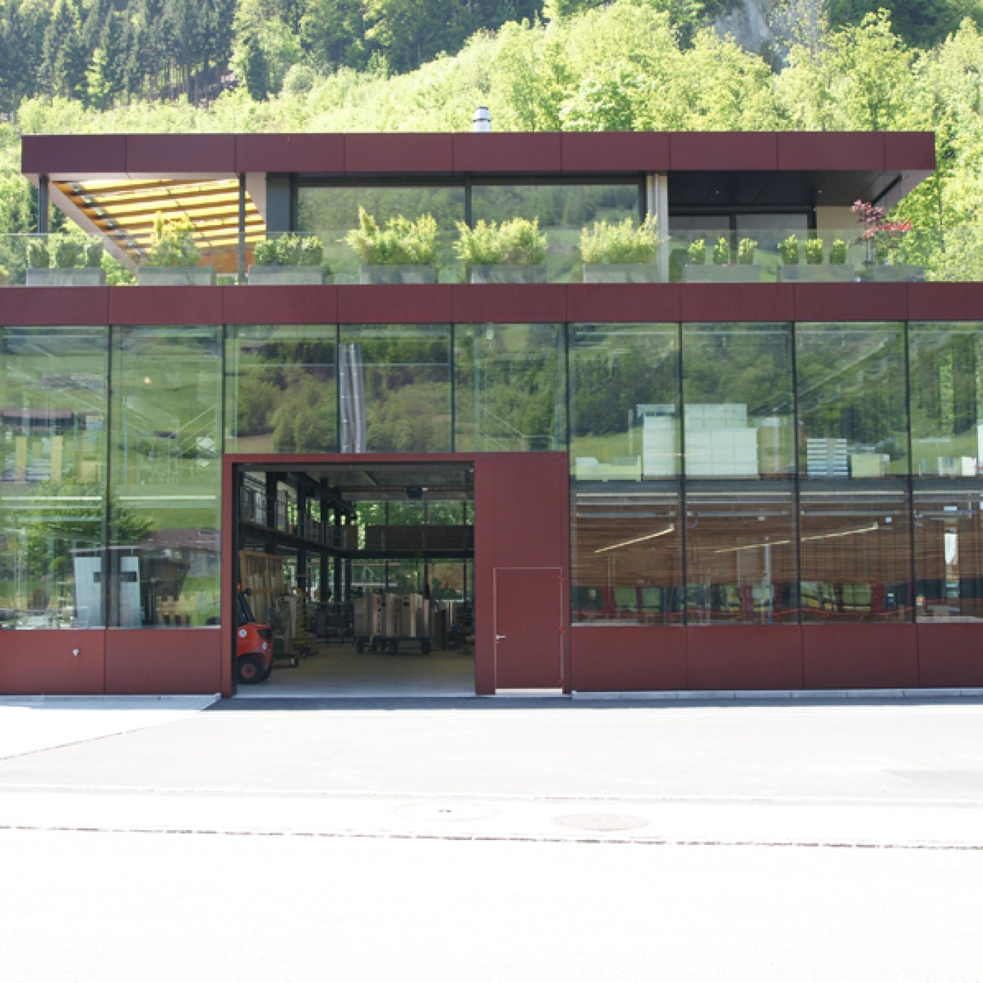 Wohn- und Geschäftshaus, Dallenwil; Architekten:  Niederberger Architekten, Hergiswil. (zvg)