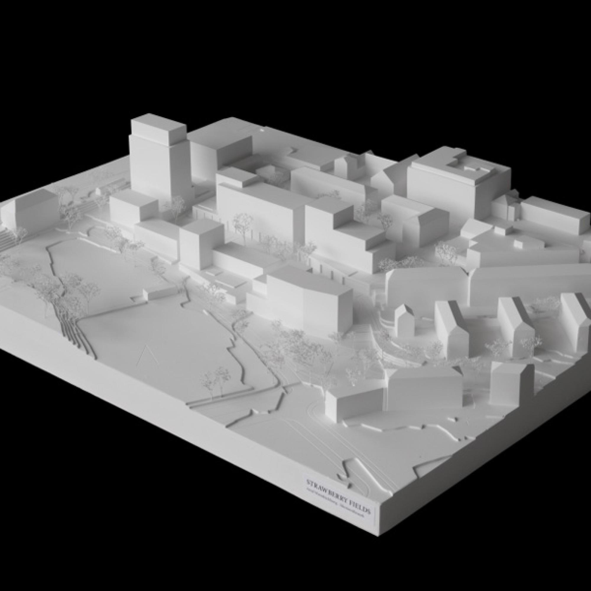 Modell des Siegerprojekts (zvg)