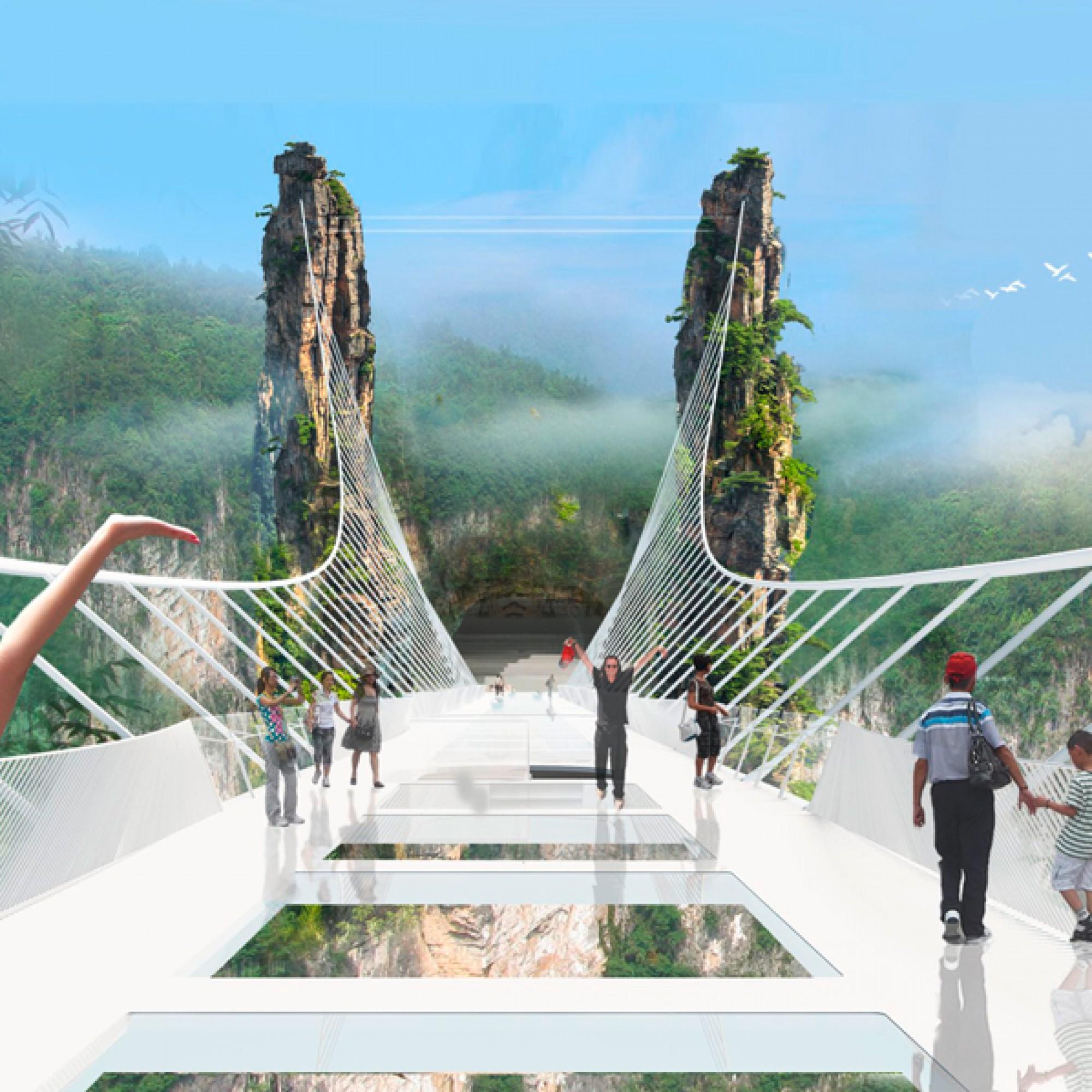 Die Brücke bietet Wanderern, Spaziergängern ...  (zvg)