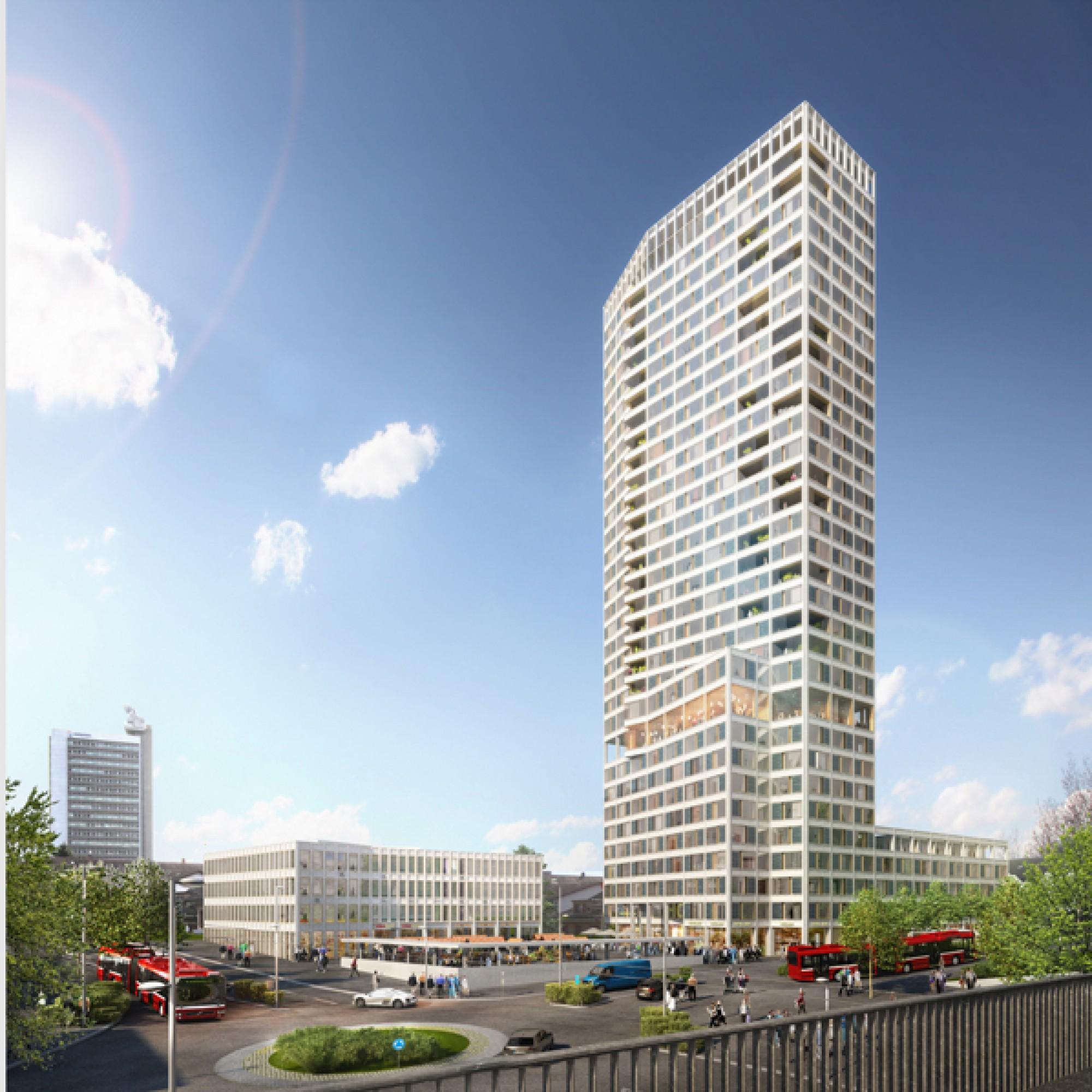 Ein 100-Meter-Turm vor den Toren Berns: so soll der Ostermundiger  Bärenturm aussehen. (zvg)