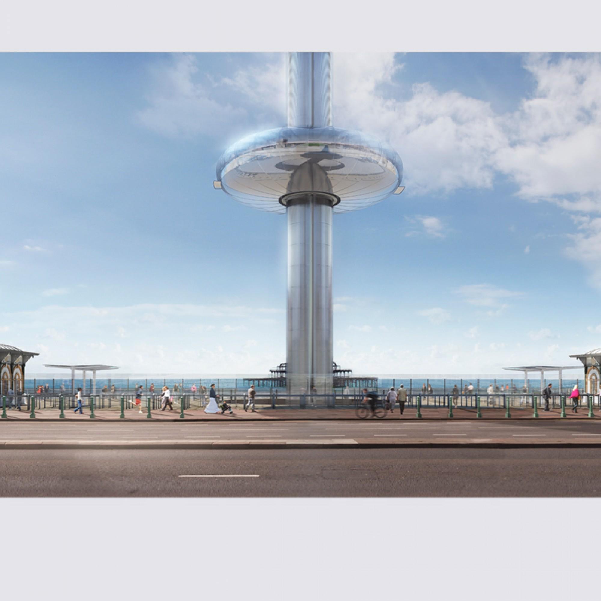 ...neuen Wahrzeichen Brightons werden. (zvg)