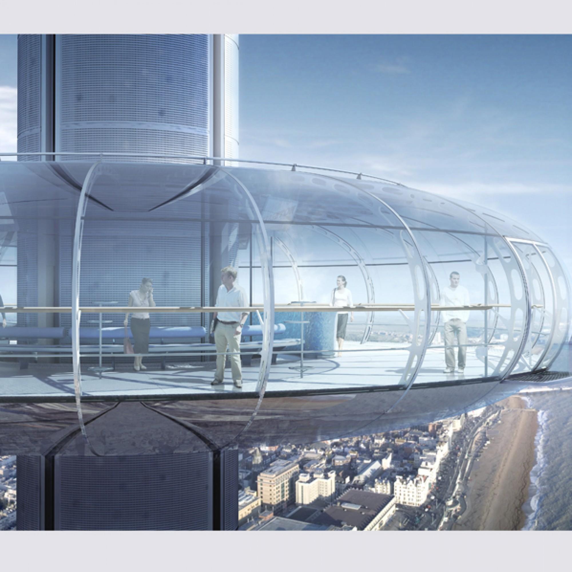 Die Aussichtsplattform bietet 200 Besuchern Platz. (zvg)