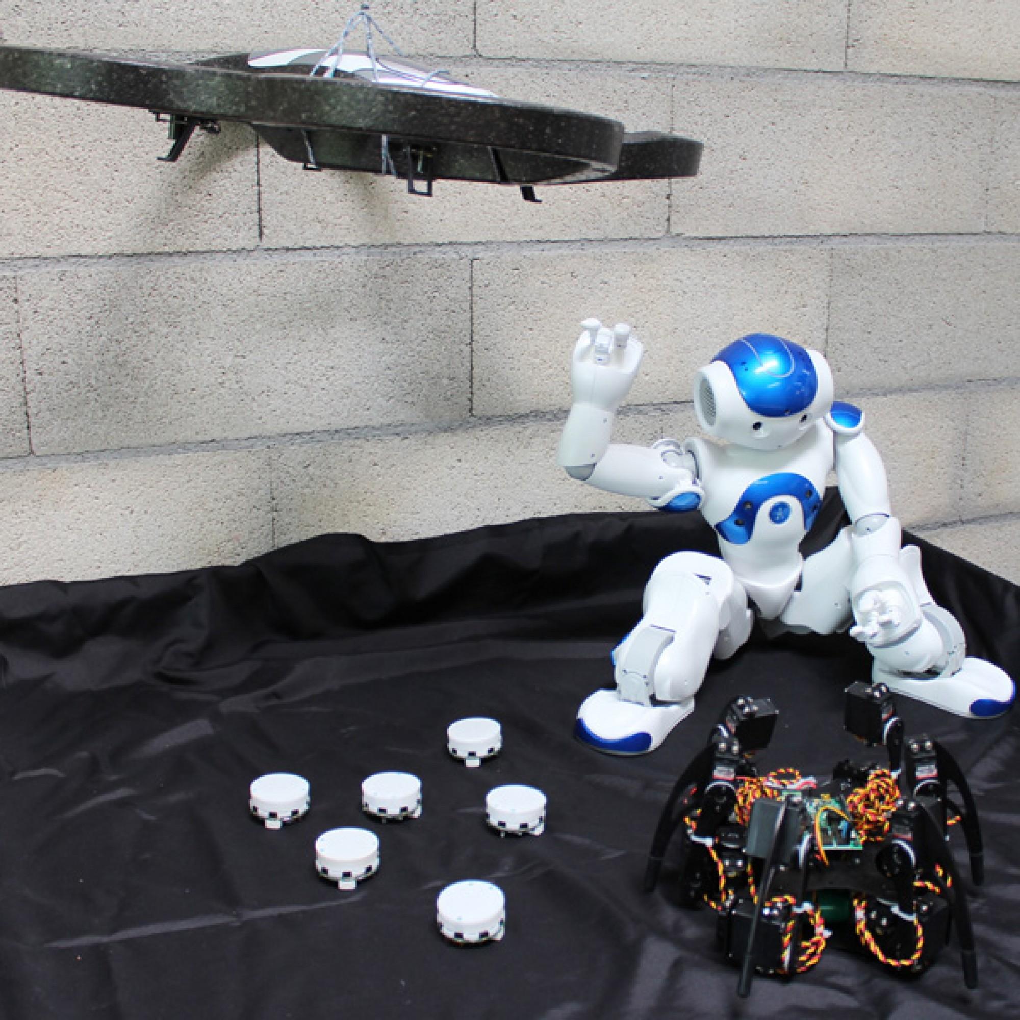Roboter der HEIG-VD (Andres Perez-Uribe)