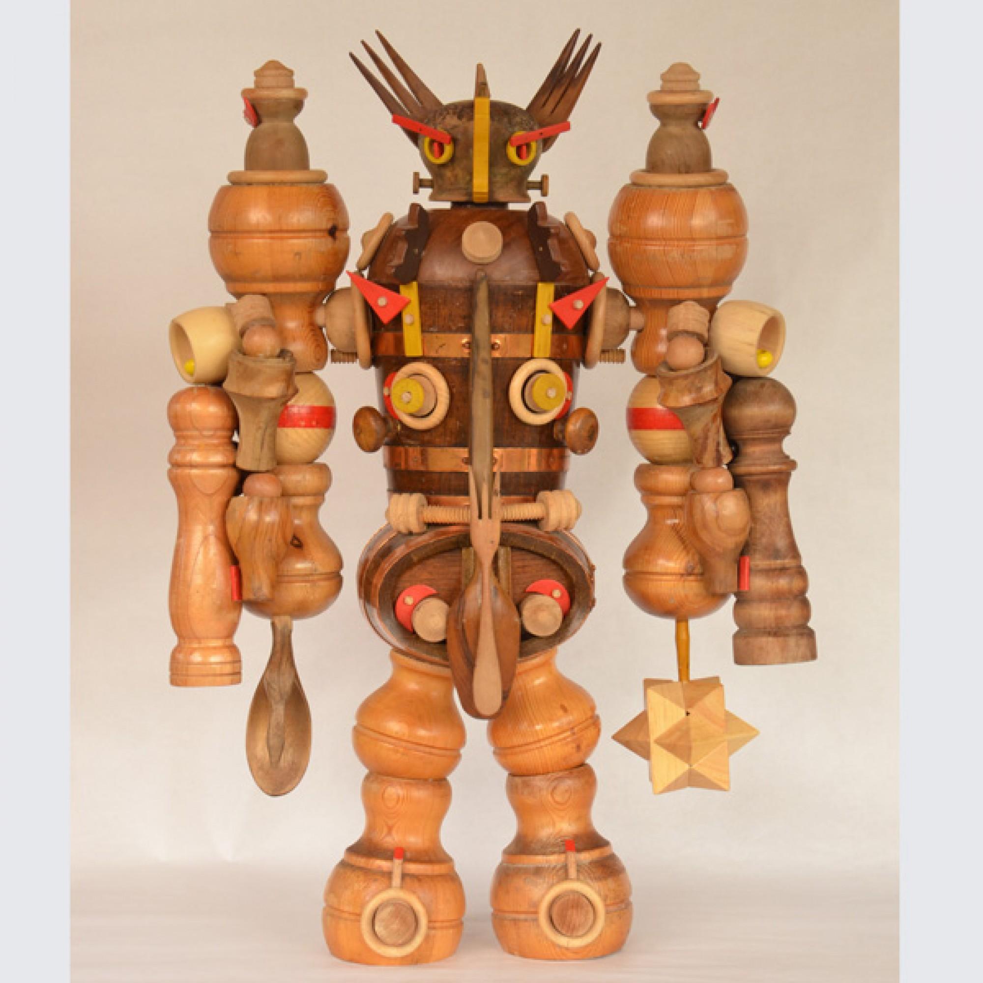 Verteidigungs-Roboter Fourchettor Matuvu 135 von Richard Marnier (Richard Marnier)
