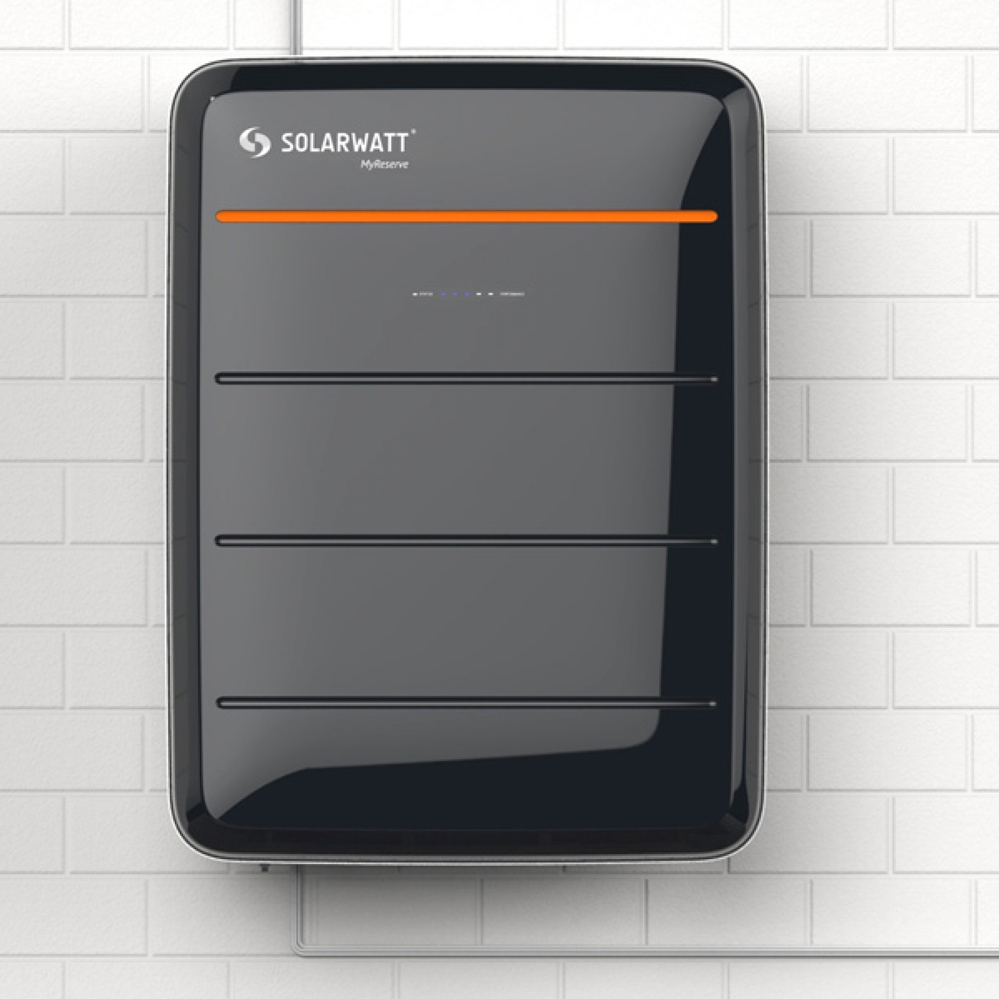 Sieht aus wie ein Koffer, ist aber ein Solarspeicher (obs/Solarwatt)