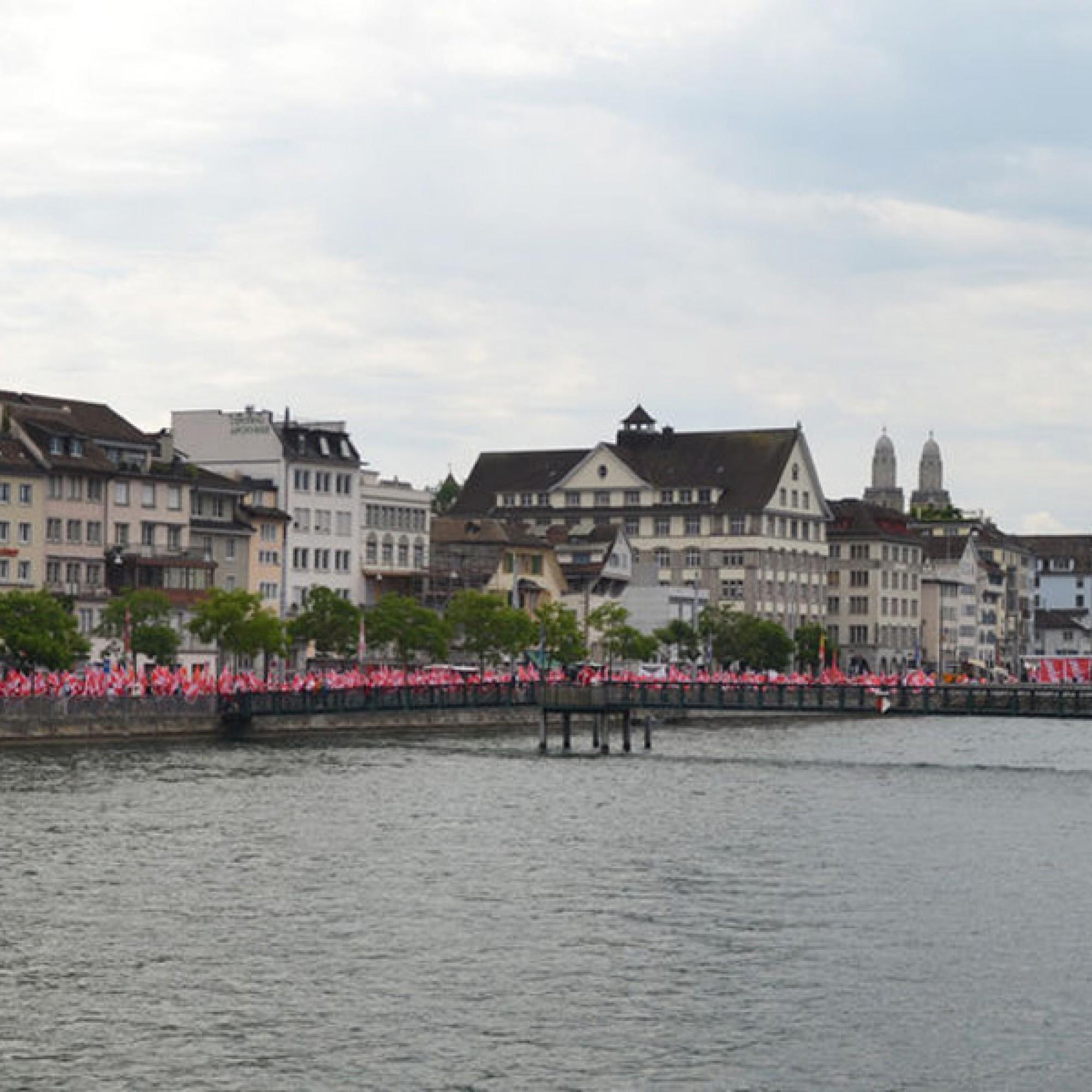Bauarbeiter und Sympathisanten kamen aus der ganzen Schweiz nach Zürich (zvg)