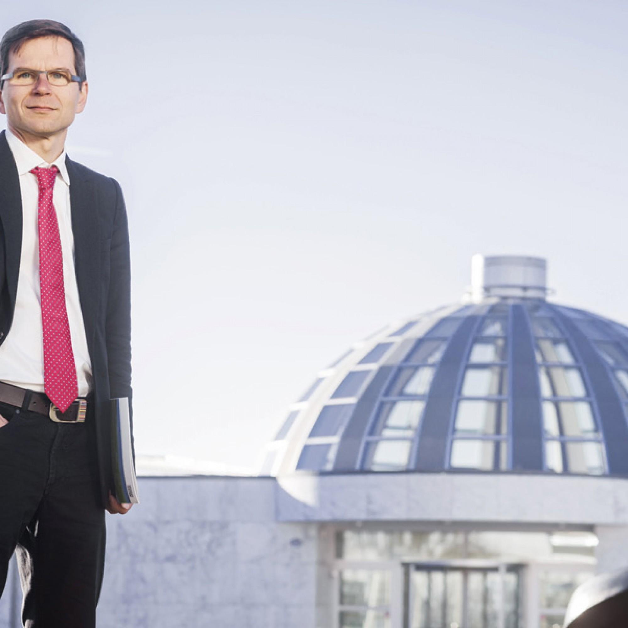 Rolf Wüstenhagen, Professor für Management erneuerbare Energien an der HSG. (zvg)