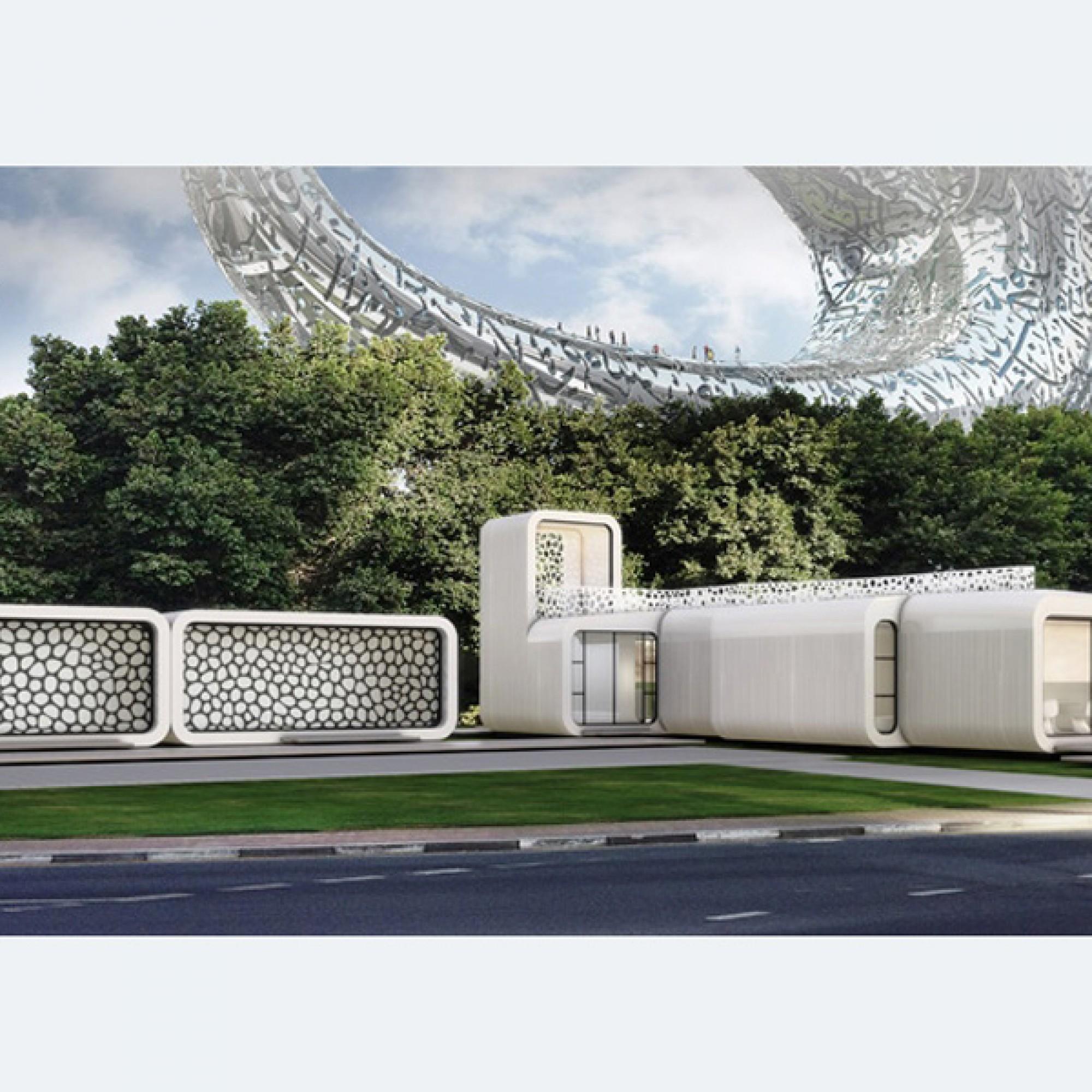 Das geplante Büro in Dubai (Bilder: zvg)
