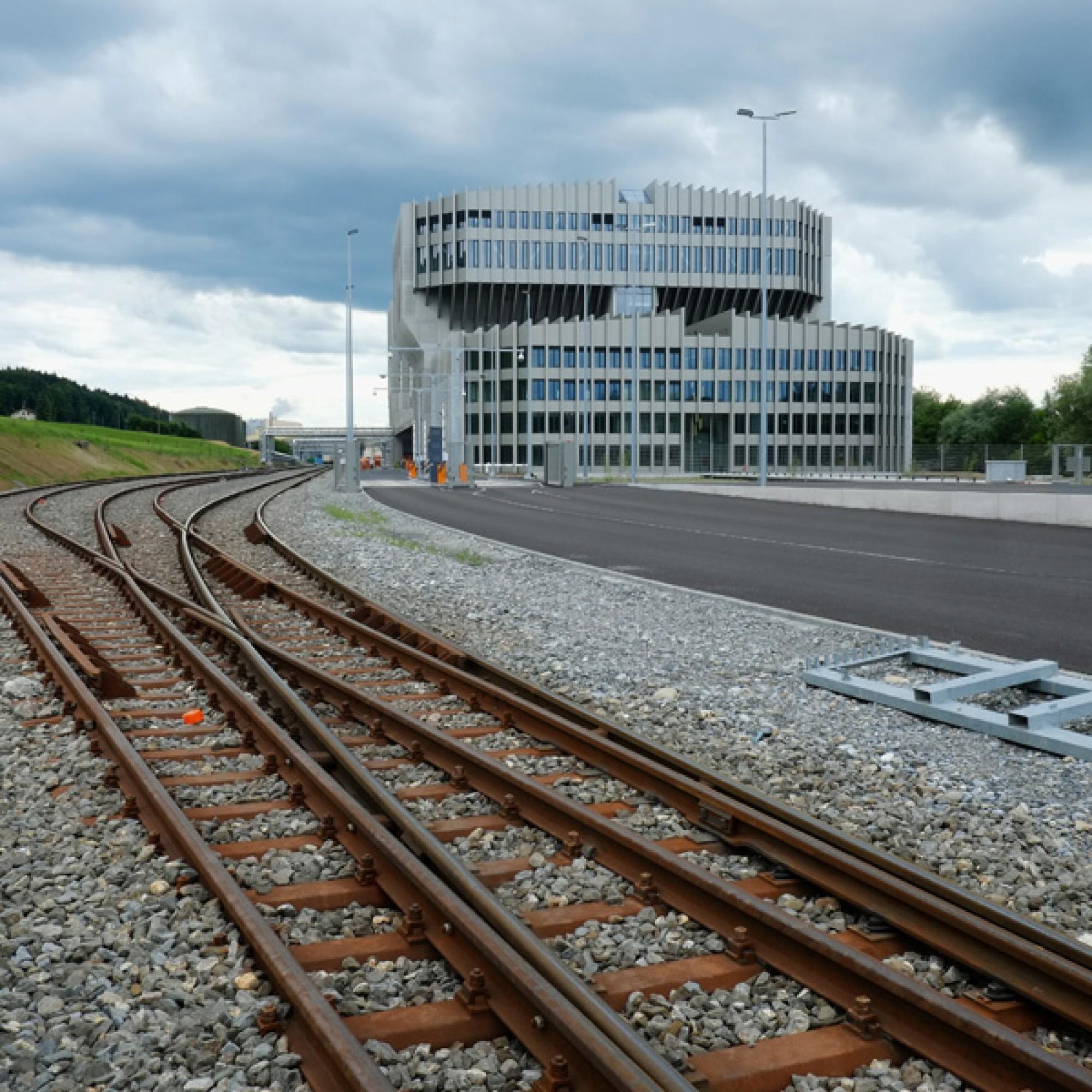 Aus Recycling-Beton: KVA Renergia in Root LU (Urs Rüttimann)
