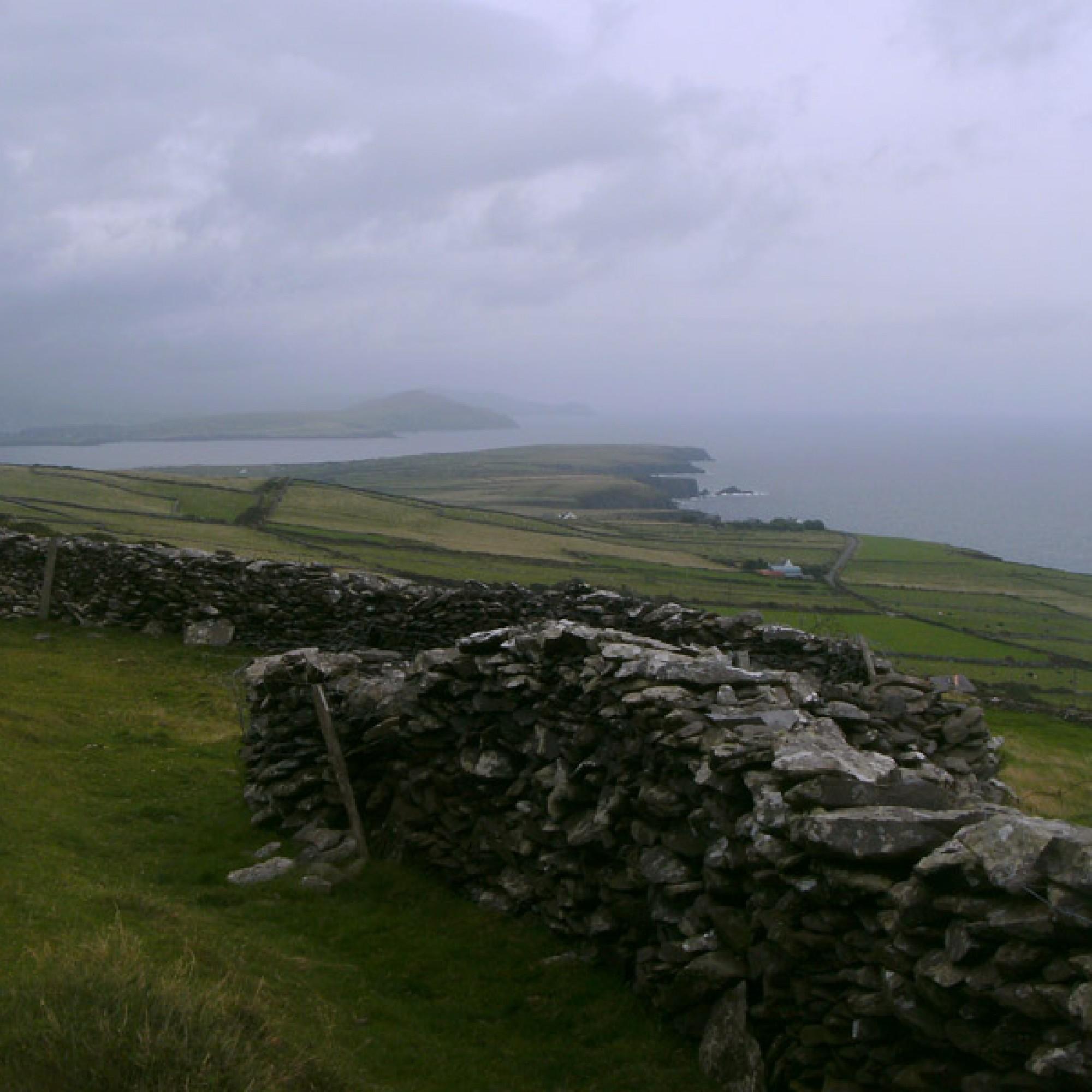 Typische Trockenmauer in Irland (Peter Mathias Silie)