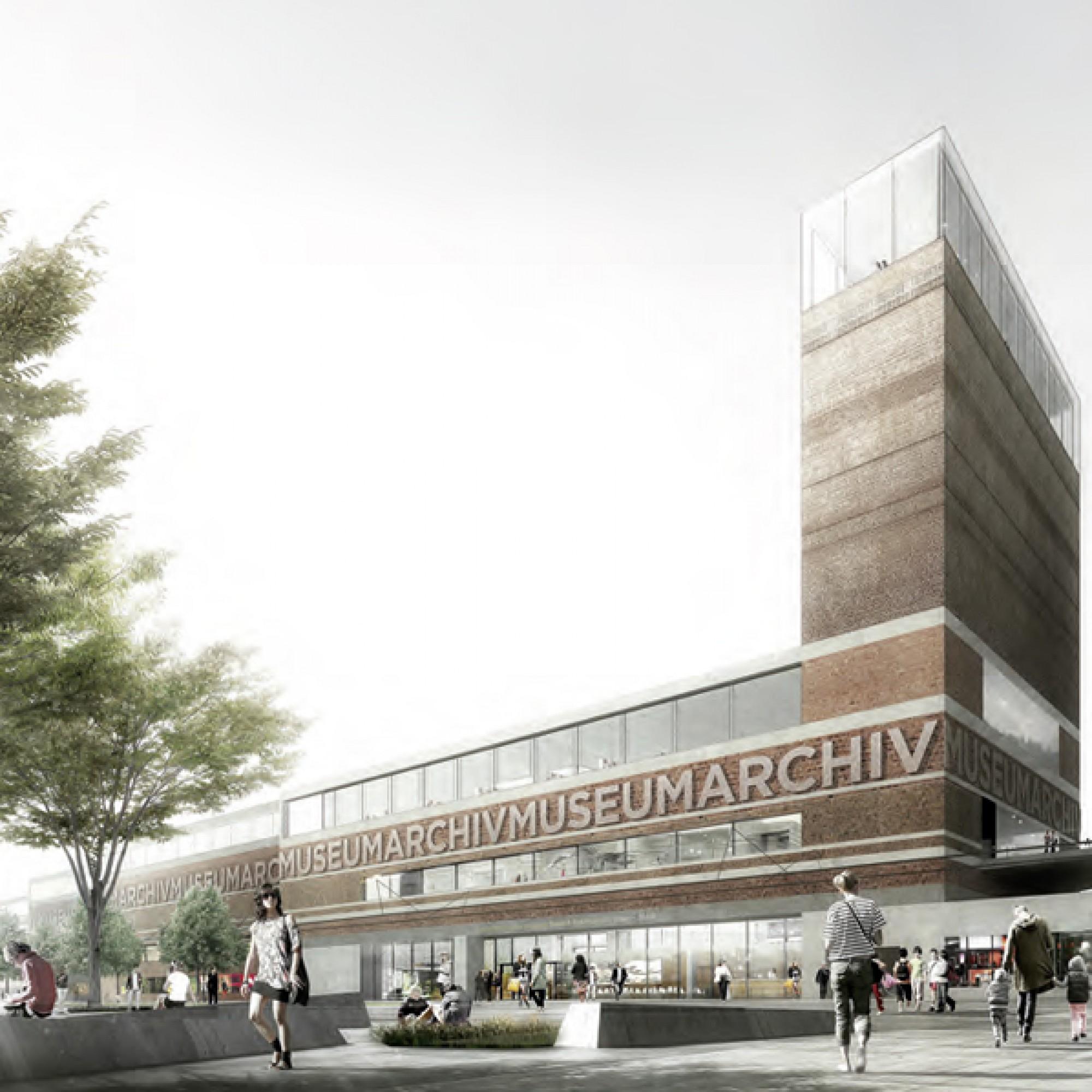 Die Jury lobte die Materialisierung des langgezogenen Gebäudes. (PD)