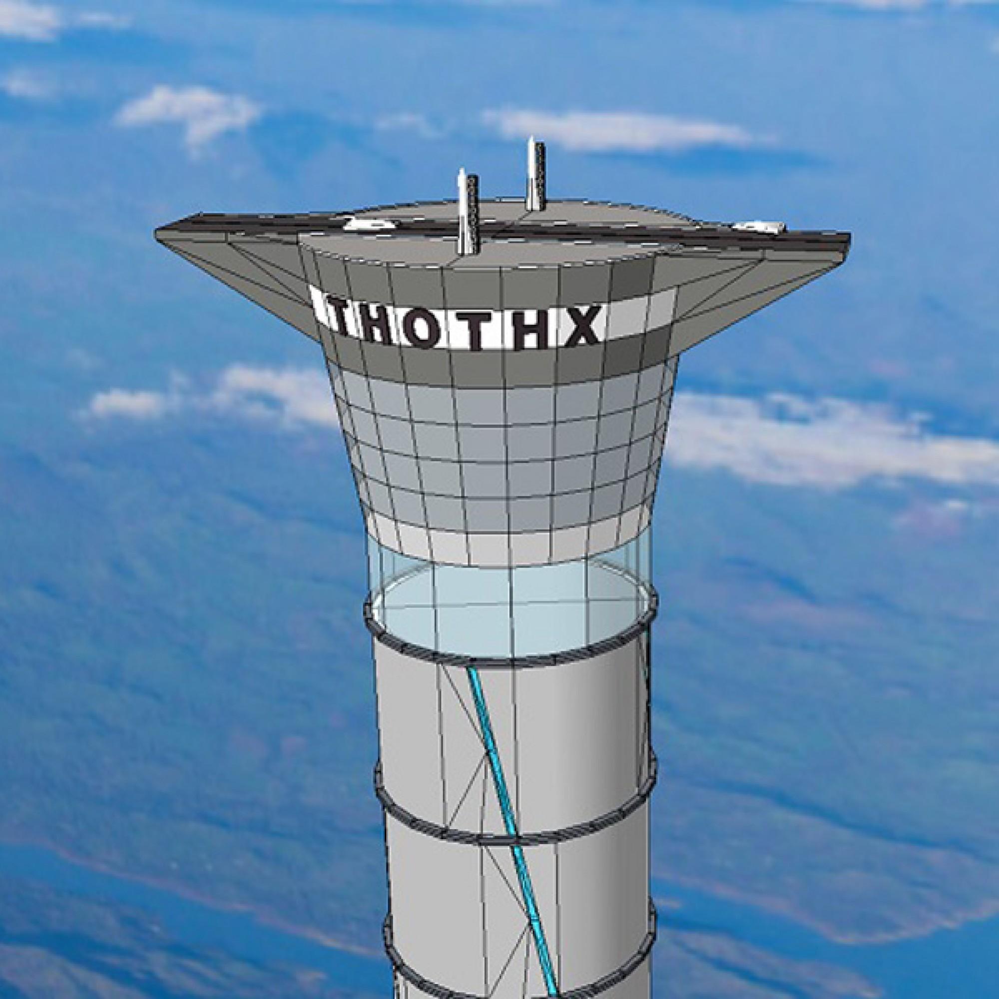 So soll der Turm aussehen. (PD)