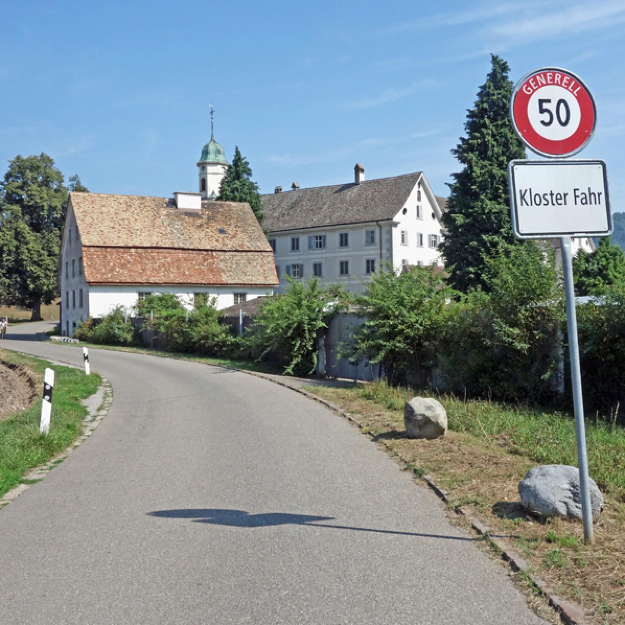 Aargauer Idylle auf Zürcher Grund: das Kloster Fahr. (Stefan Breitenmoser)