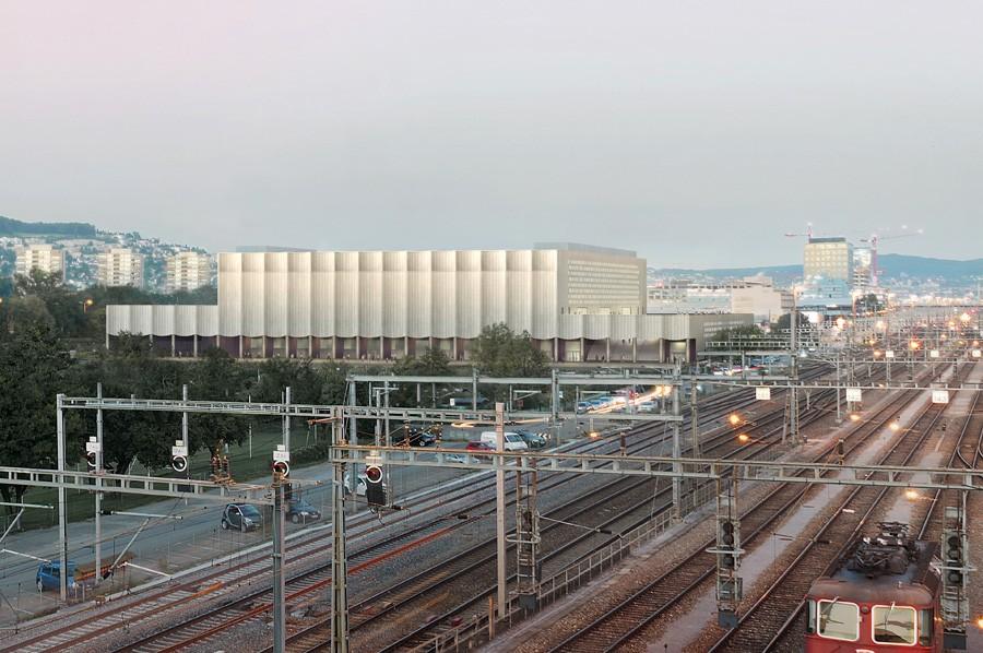 Visualisierung ZSC-Stadion in Zürich