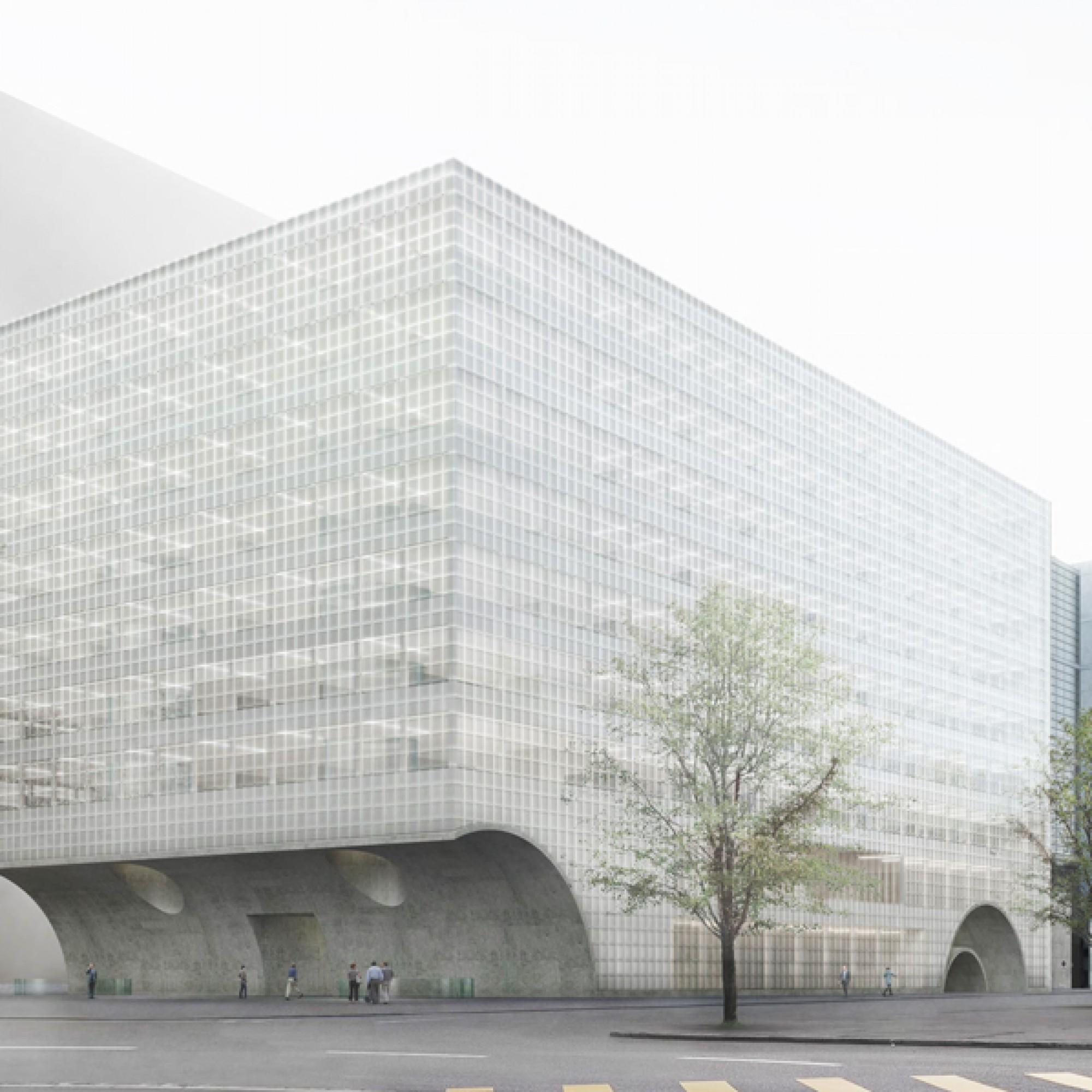 """Das Siegerprojekt """"MCDLIX"""" der Architekten Caruso St John (zvg)"""