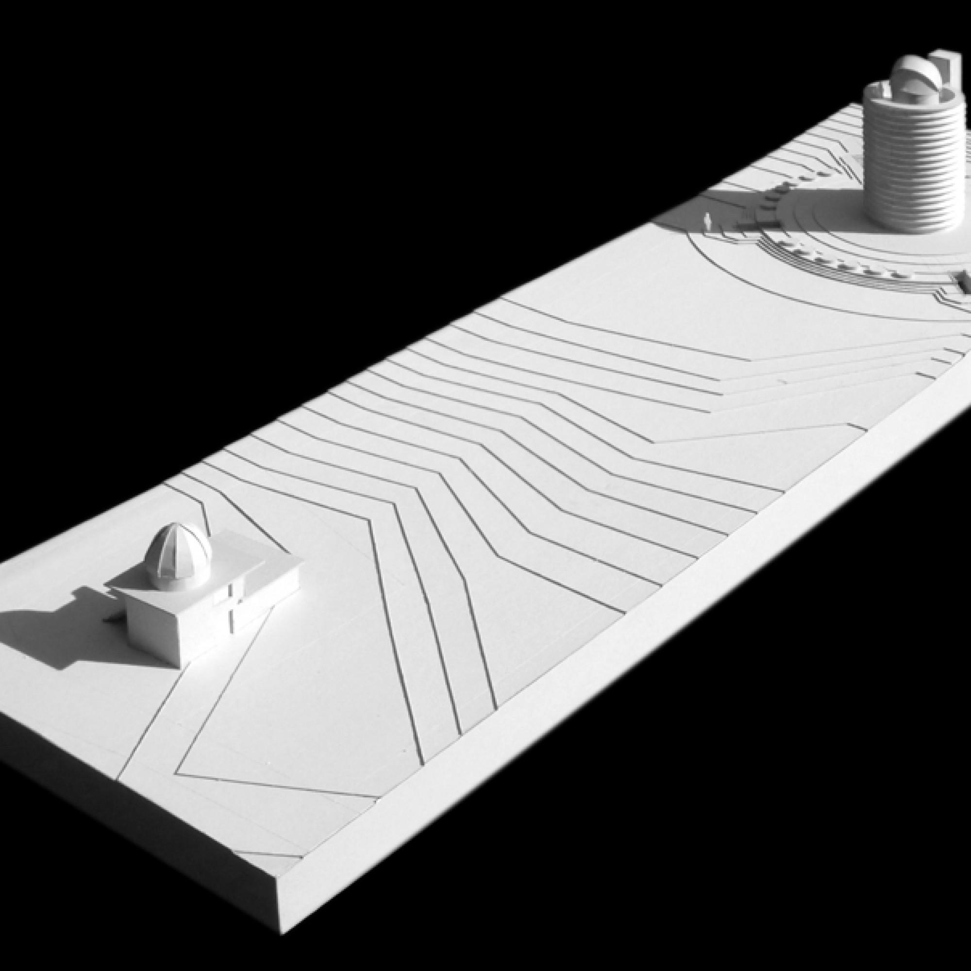 Modell der neuen Beobachtungsstation. (zvg)