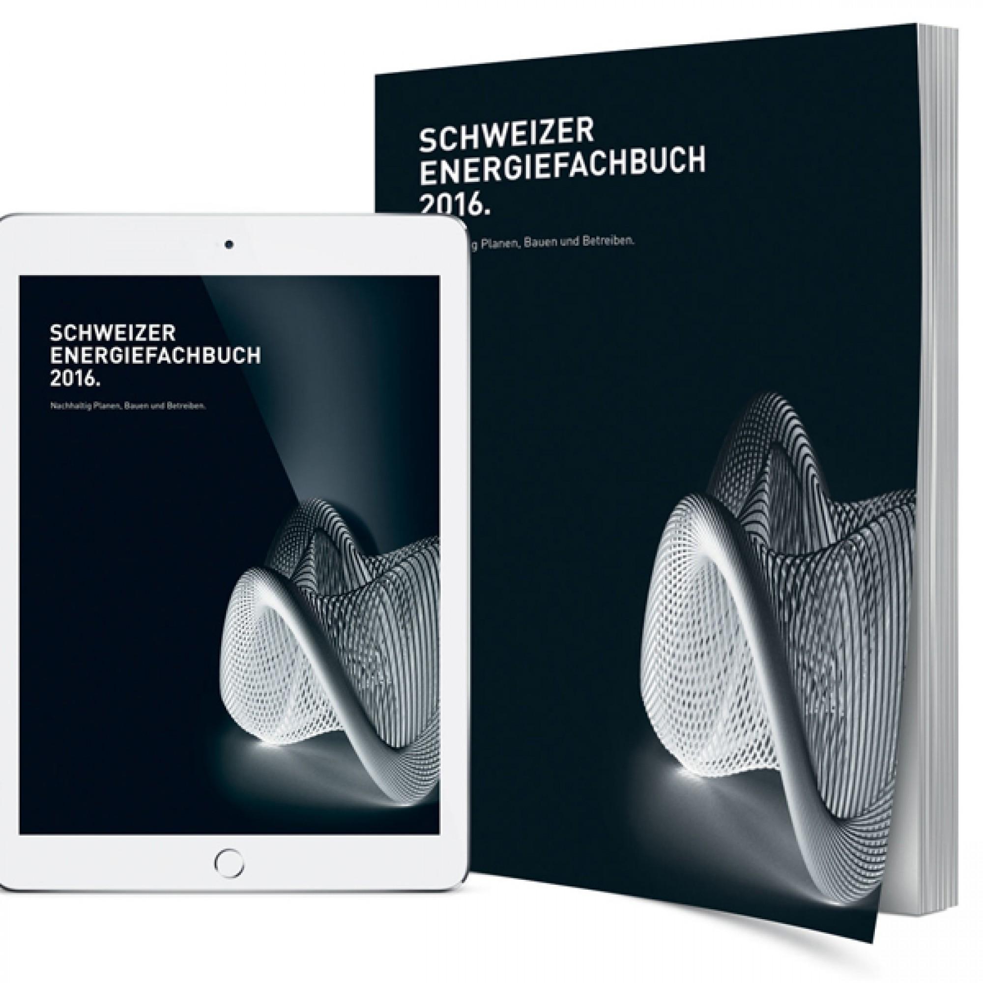 Cover Energiefachbuch 2016 (Bilder zvg)