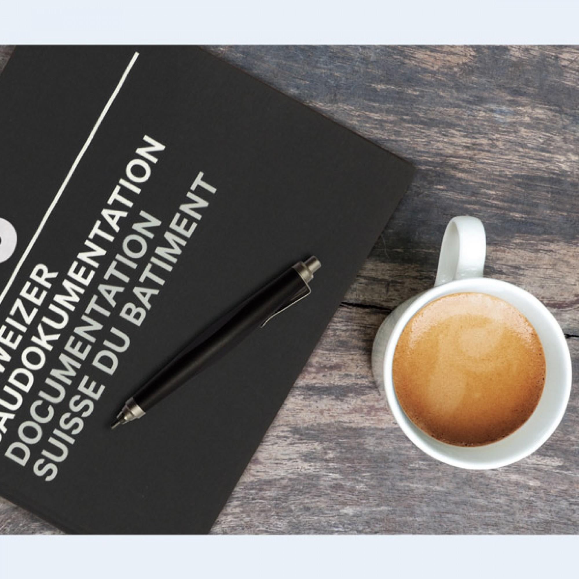 Ein Coffee Table Book der besonderen Art: Die Schweizer Baudokumentation 2016. (Bild: baudokumentation.ch)