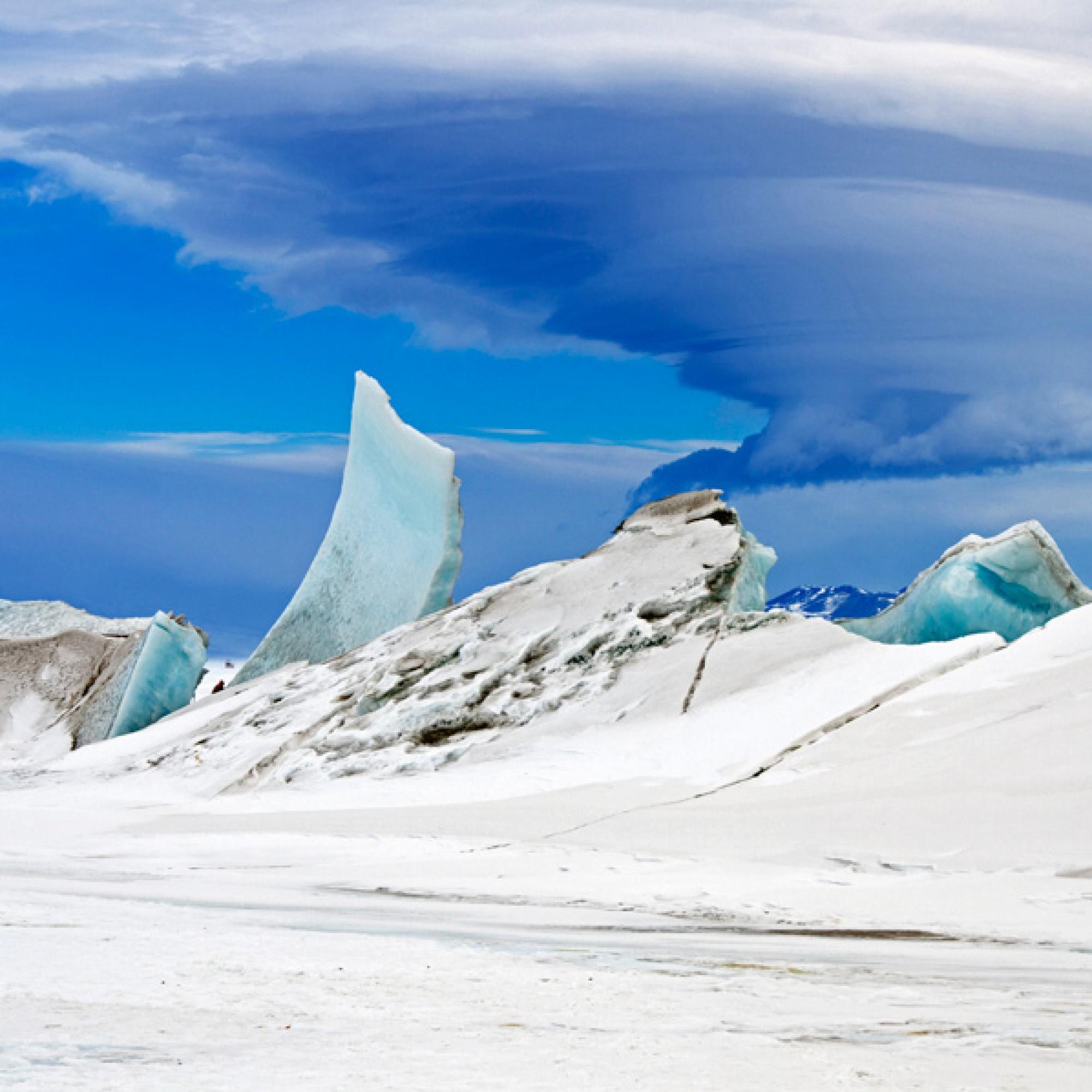 Ewiges Eis in der Arktis. (Nasa)