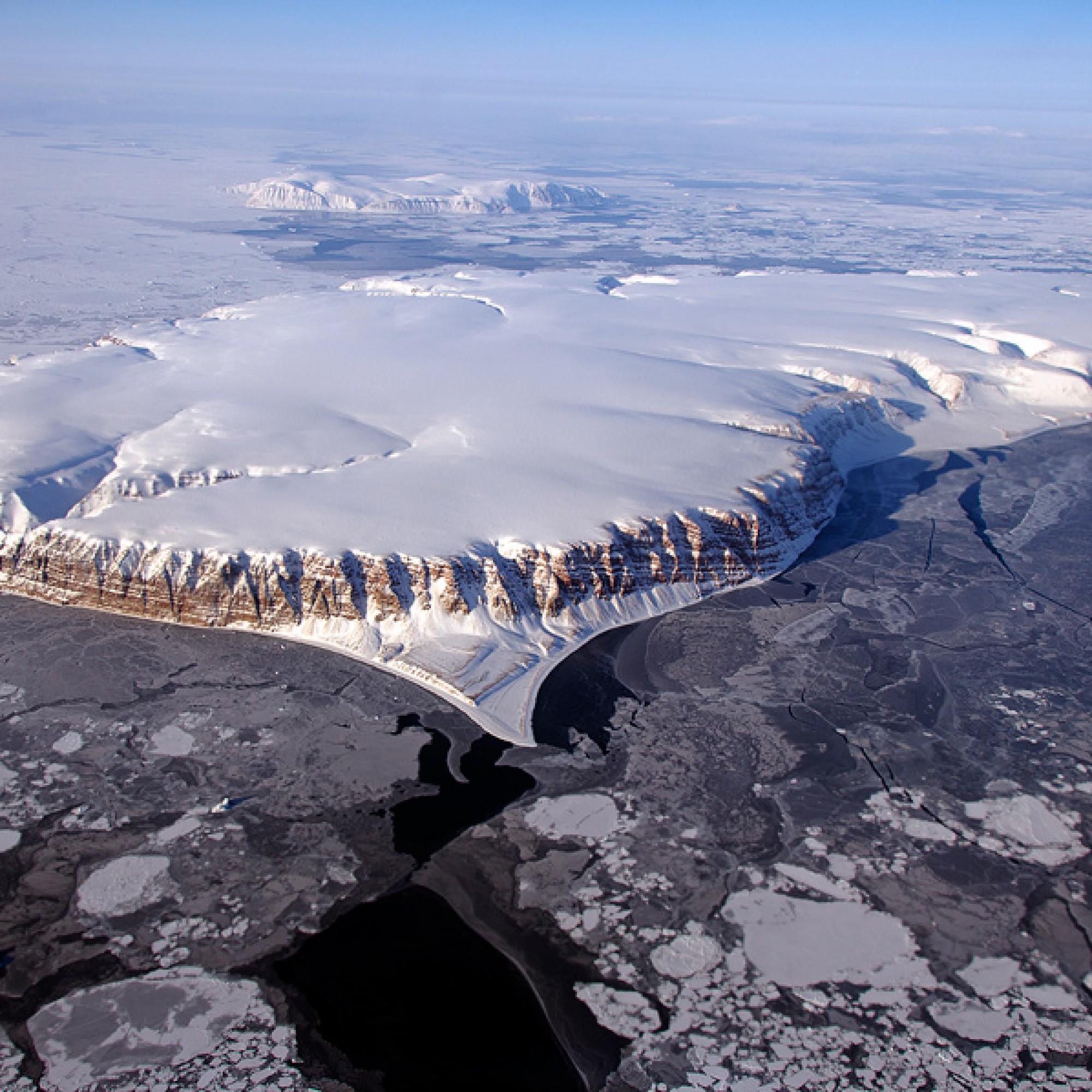 Saundersland-Insel, Grönland.