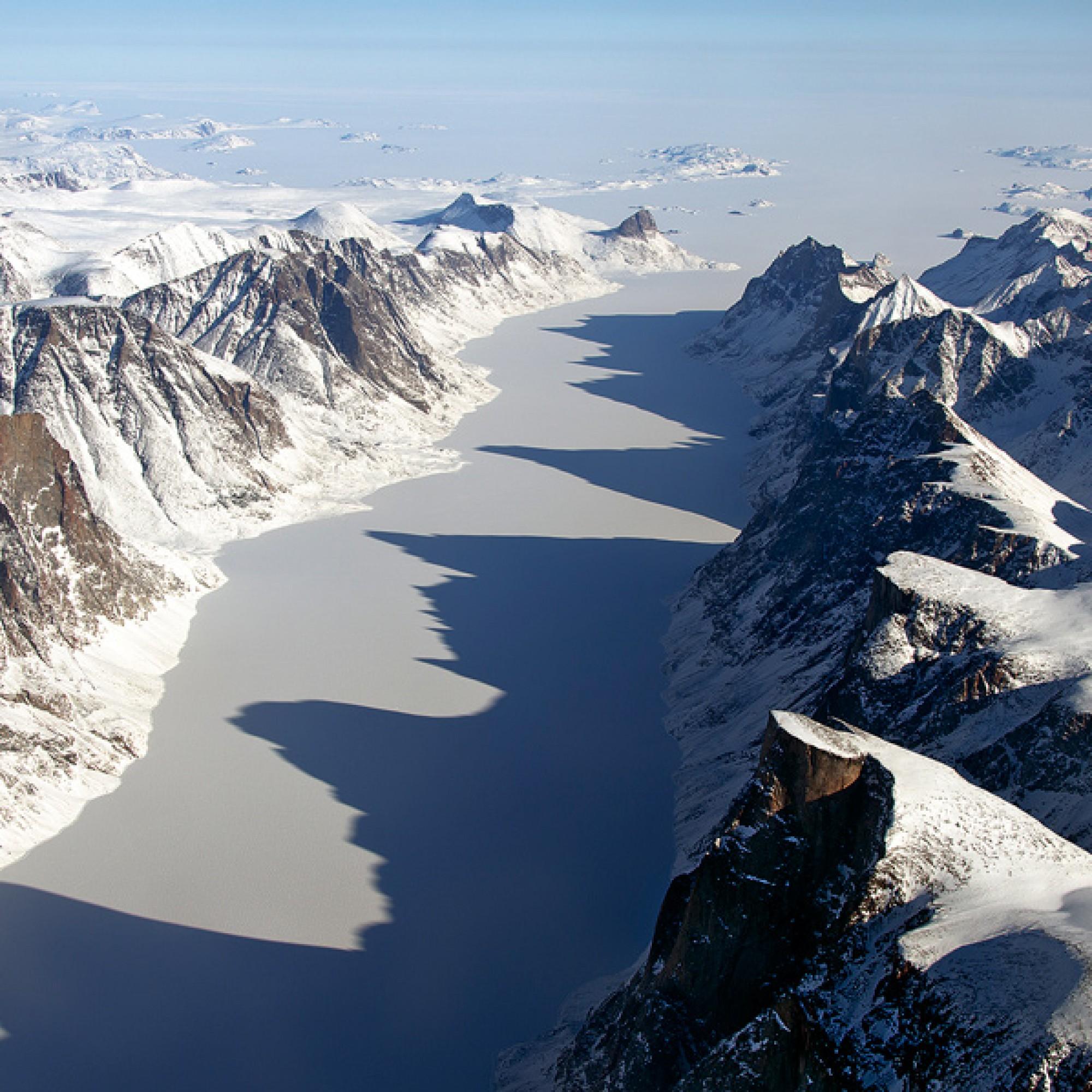 Baffin-Insel, grösste Insel des Kanadisch-Arktischen Archipels.