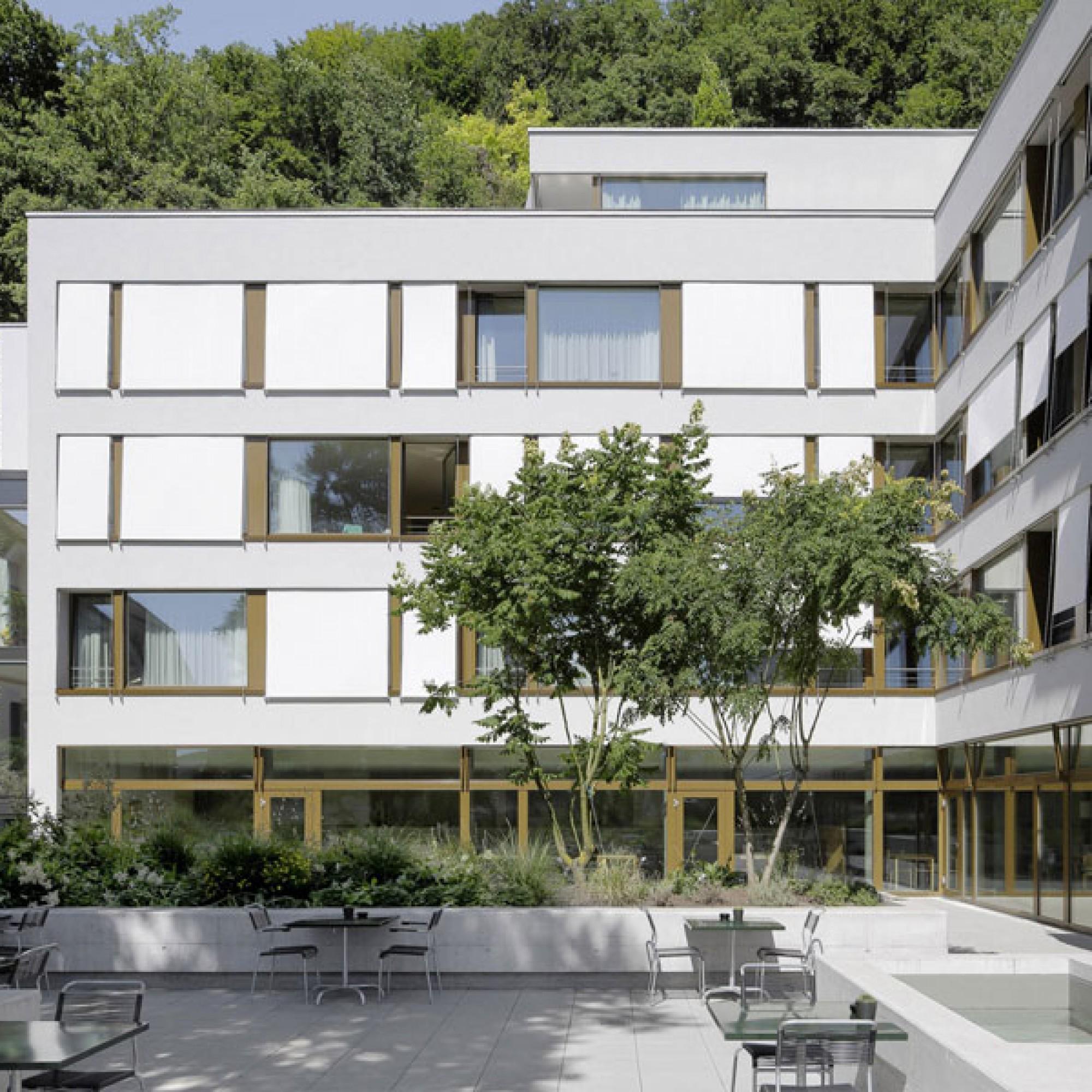 Das vor drei Jahren erweiterte Pflegezentrum Brunnmatt in Liestal (Tom Bisig)