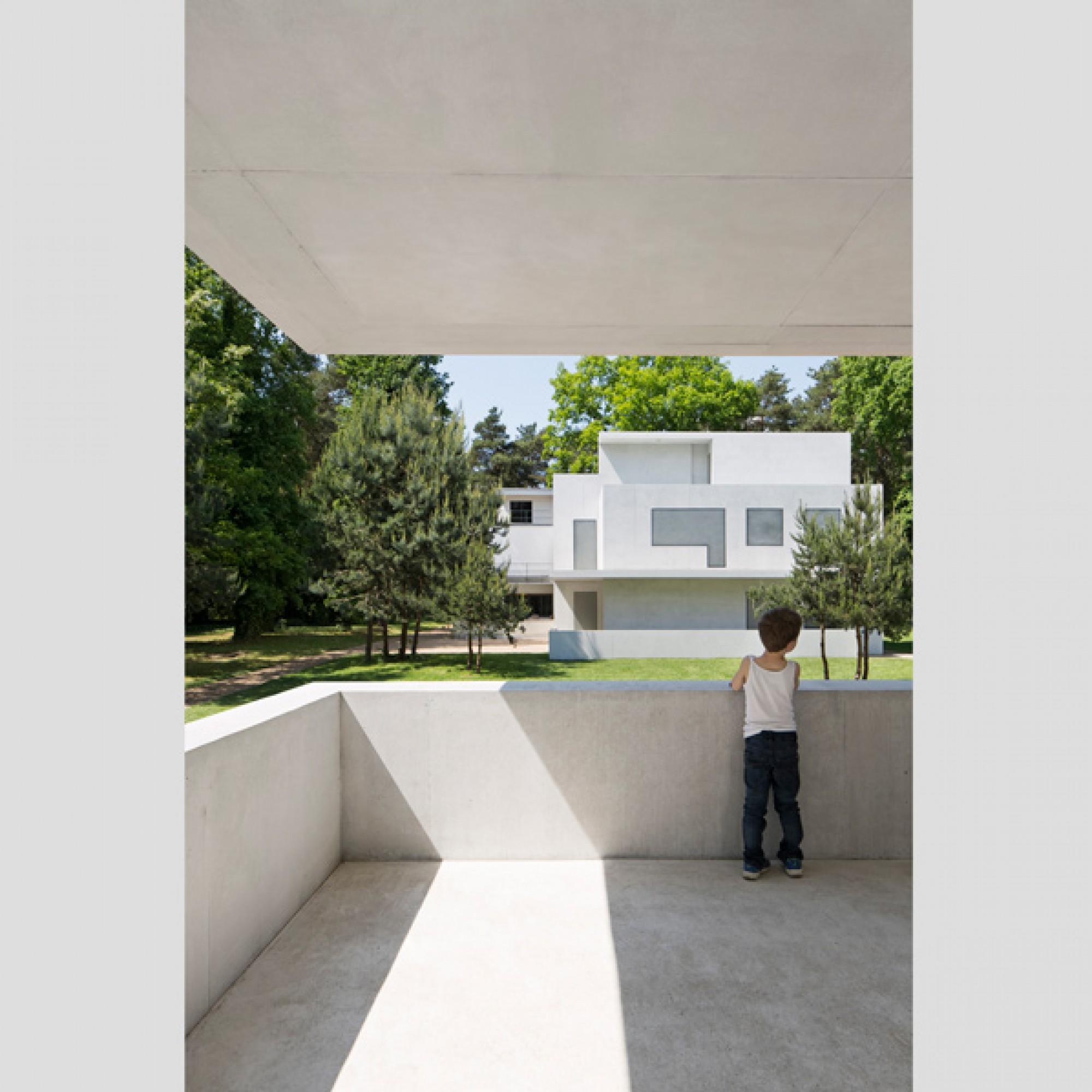 Die neuen Meisterhäuser in Dessau... (Werner Huthmacher / DAM)