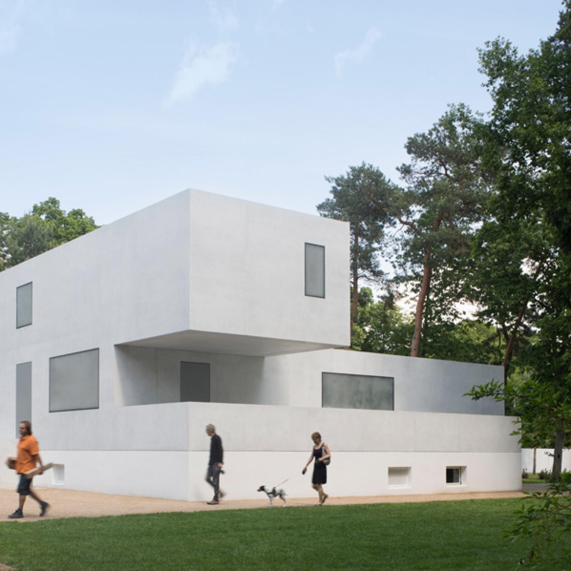 ...sind keine exakten Nachbildungen der Bauten, die einst an ihrem Platz standen. (Werner Huthmacher / DAM)