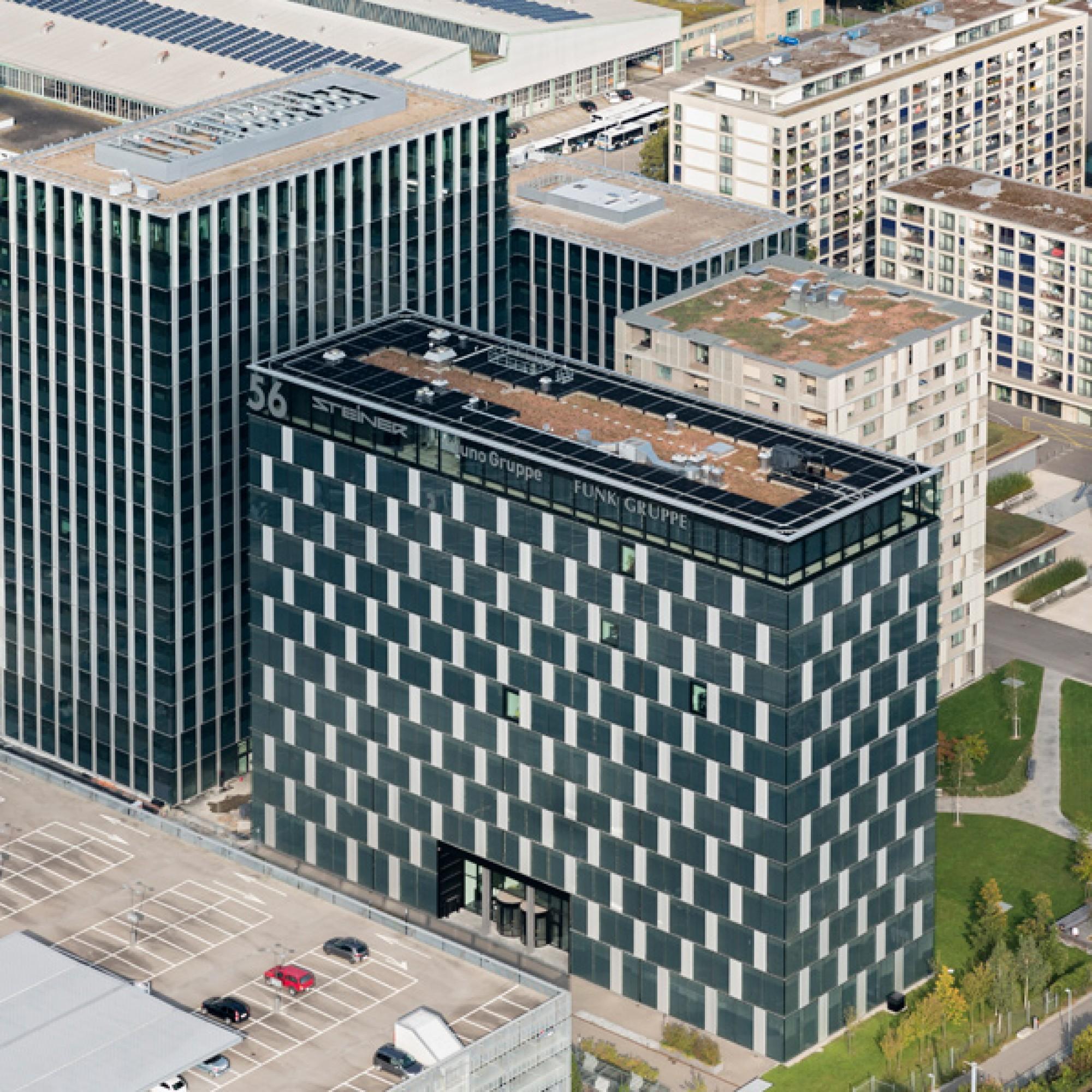 Der heutige Hauptsitz der Steiner AG in Zürich. (PD)